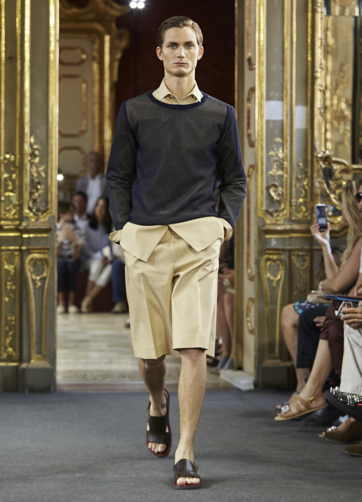Runway Corneliani Spring Summer 2016 Men's Collection Milan Fashion Week
