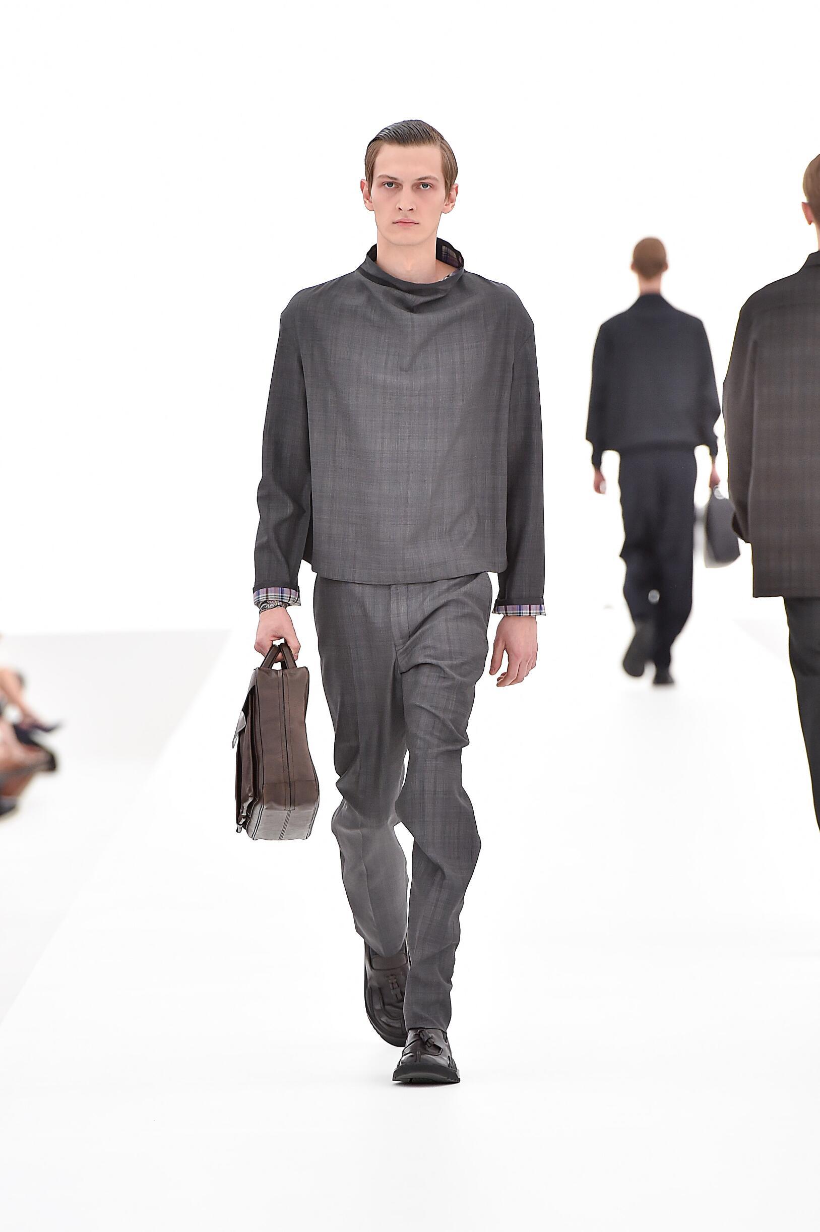 Runway Ermenegildo Zegna Couture Spring Summer 2016 Men's Collection Milan Fashion Week