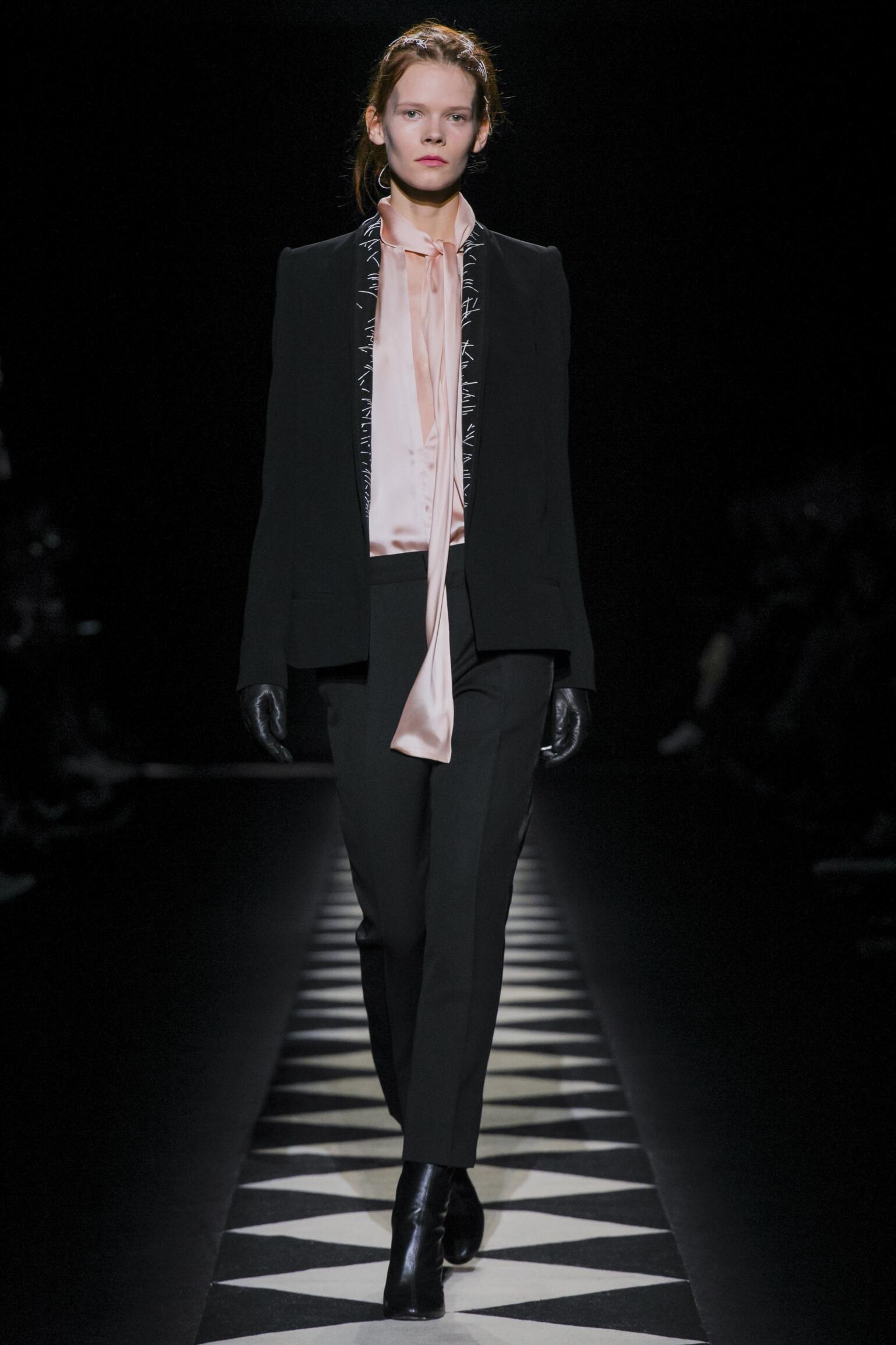 Runway Haider Ackermann Fall Winter 2015 16 Women's Collection Paris Fashion Week