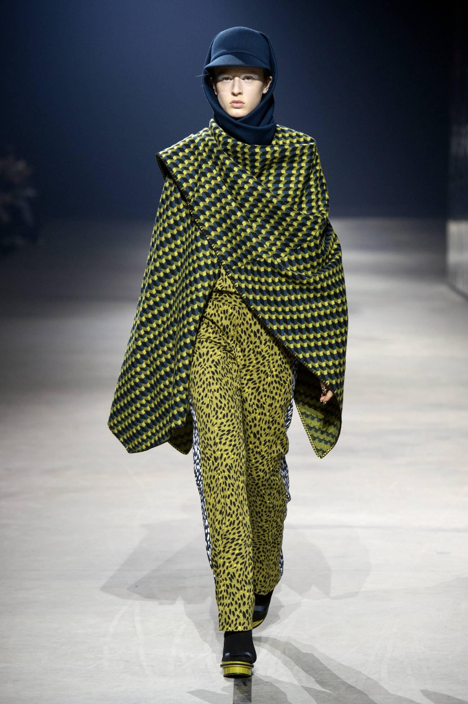 Runway Kenzo Fall Winter 2015 16 Women's Collection Paris Fashion Week