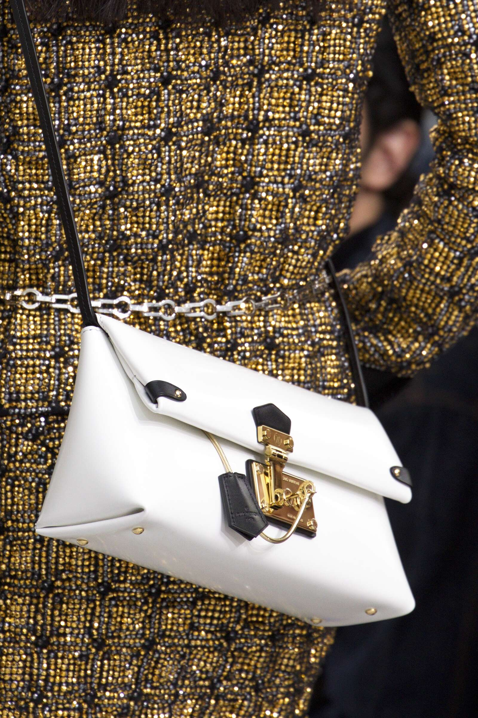 Runway Louis Vuitton Bag Details Fashion Show Winter 2015