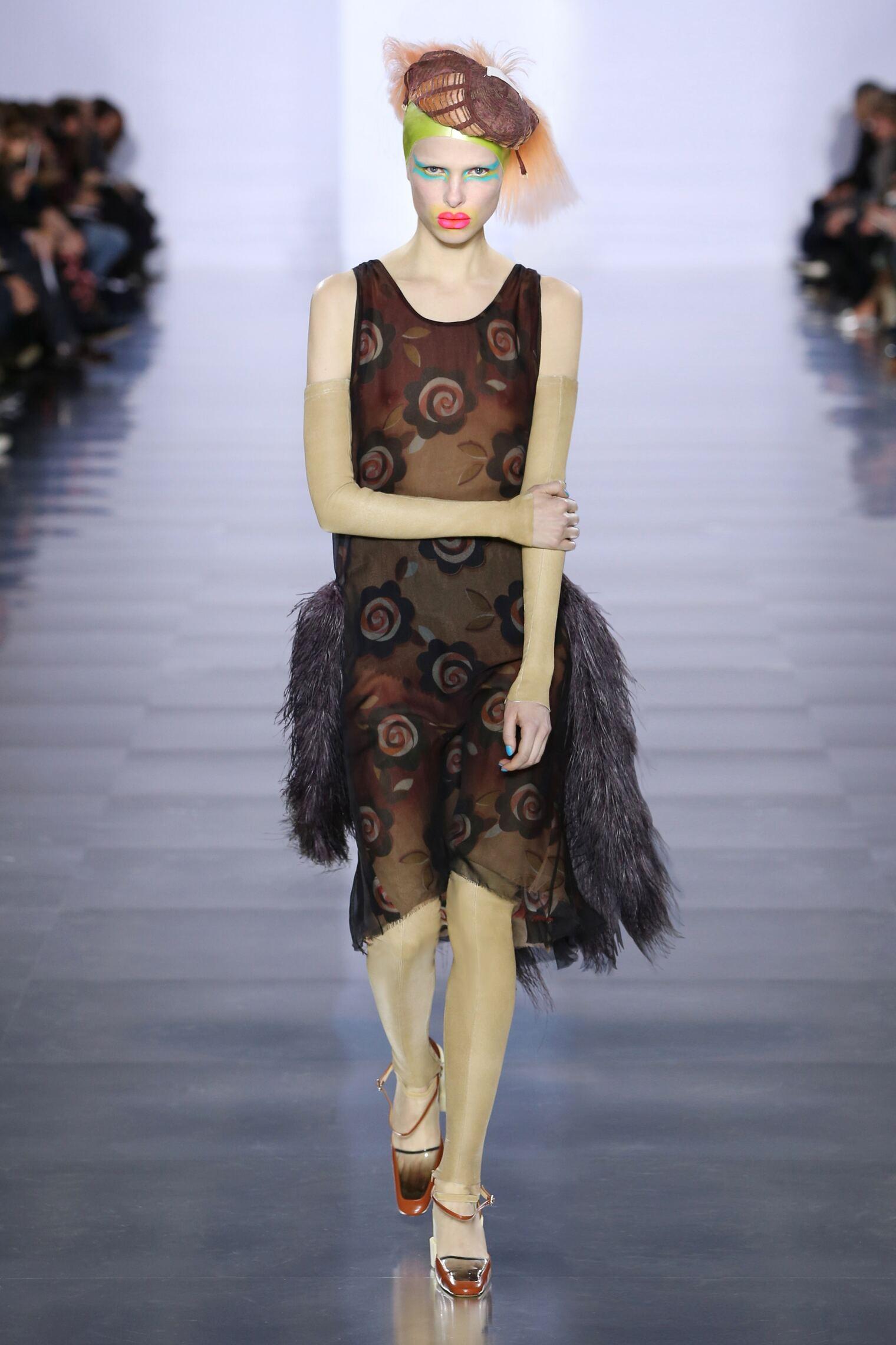 Runway Maison Margiela Fall Winter 2015 16 Women's Collection Paris Fashion Week