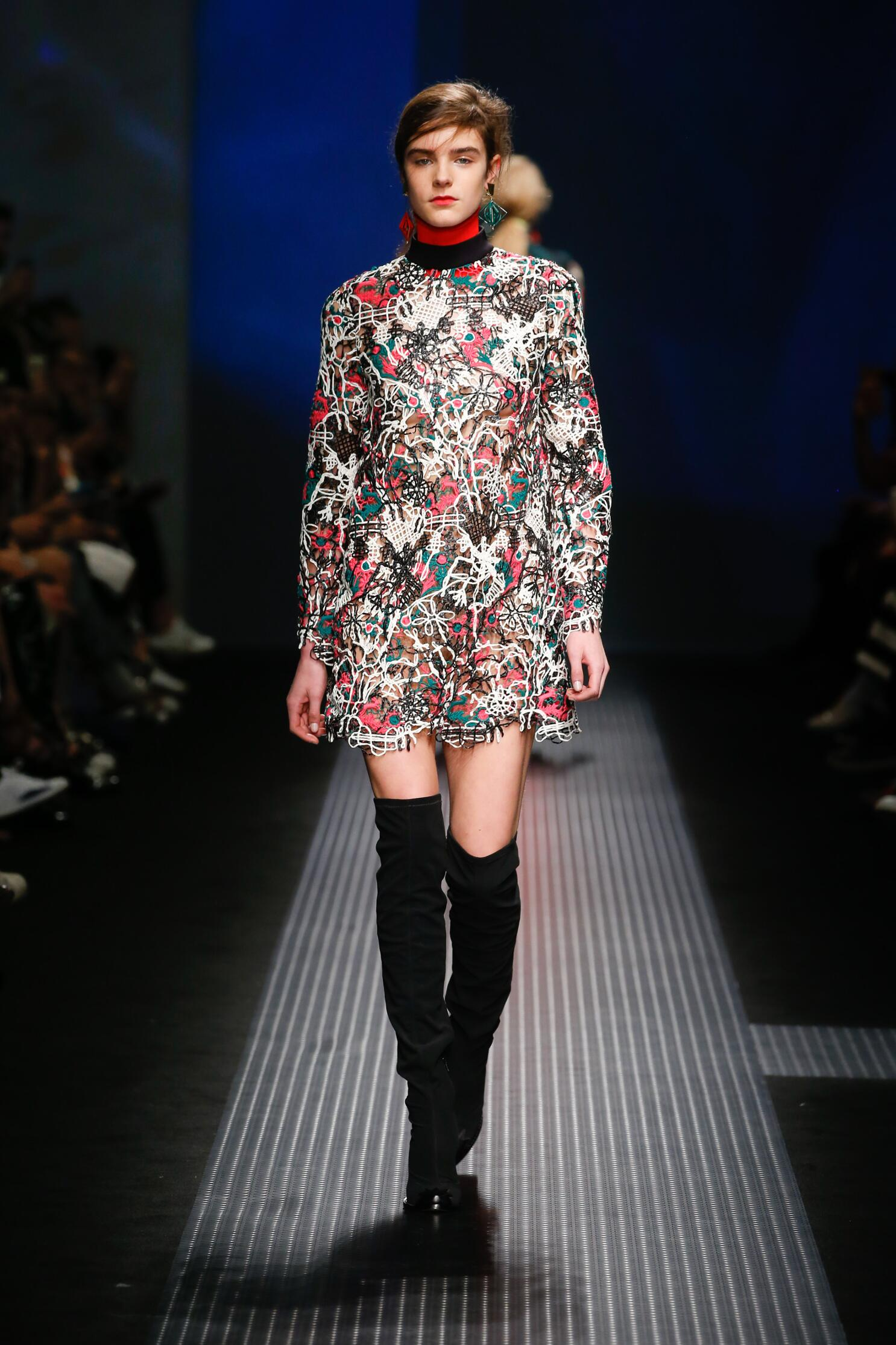 Fall msgm runway forecast dress in autumn in 2019