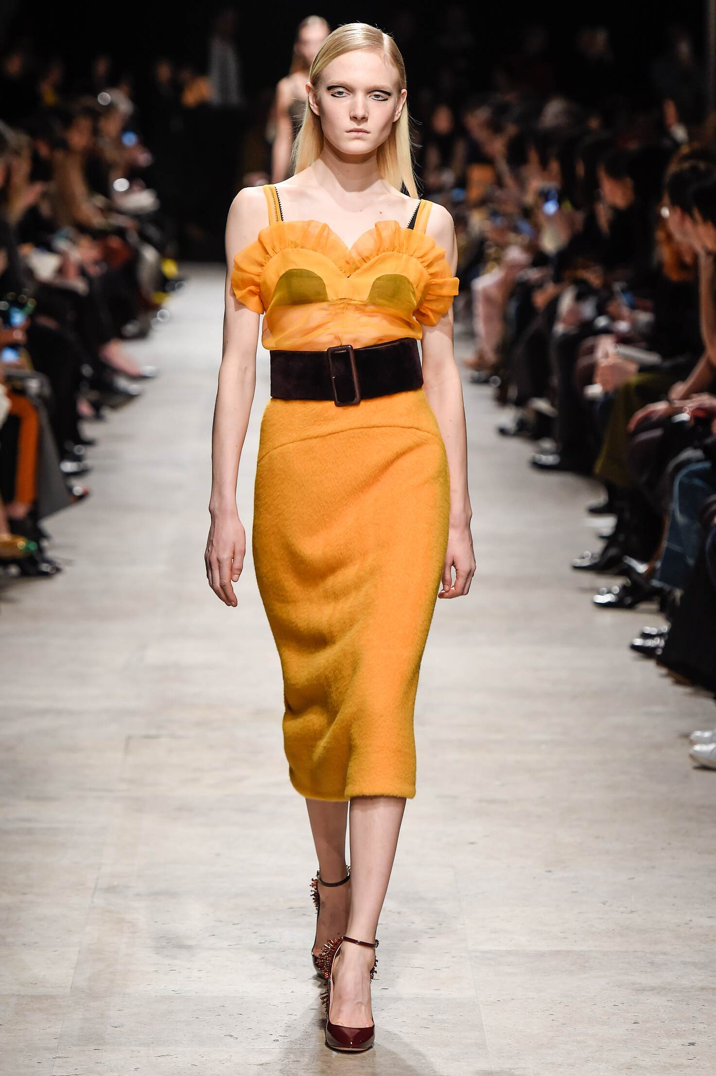 Runway Rochas Fall Winter 2015 16 Women's Collection Paris Fashion Week