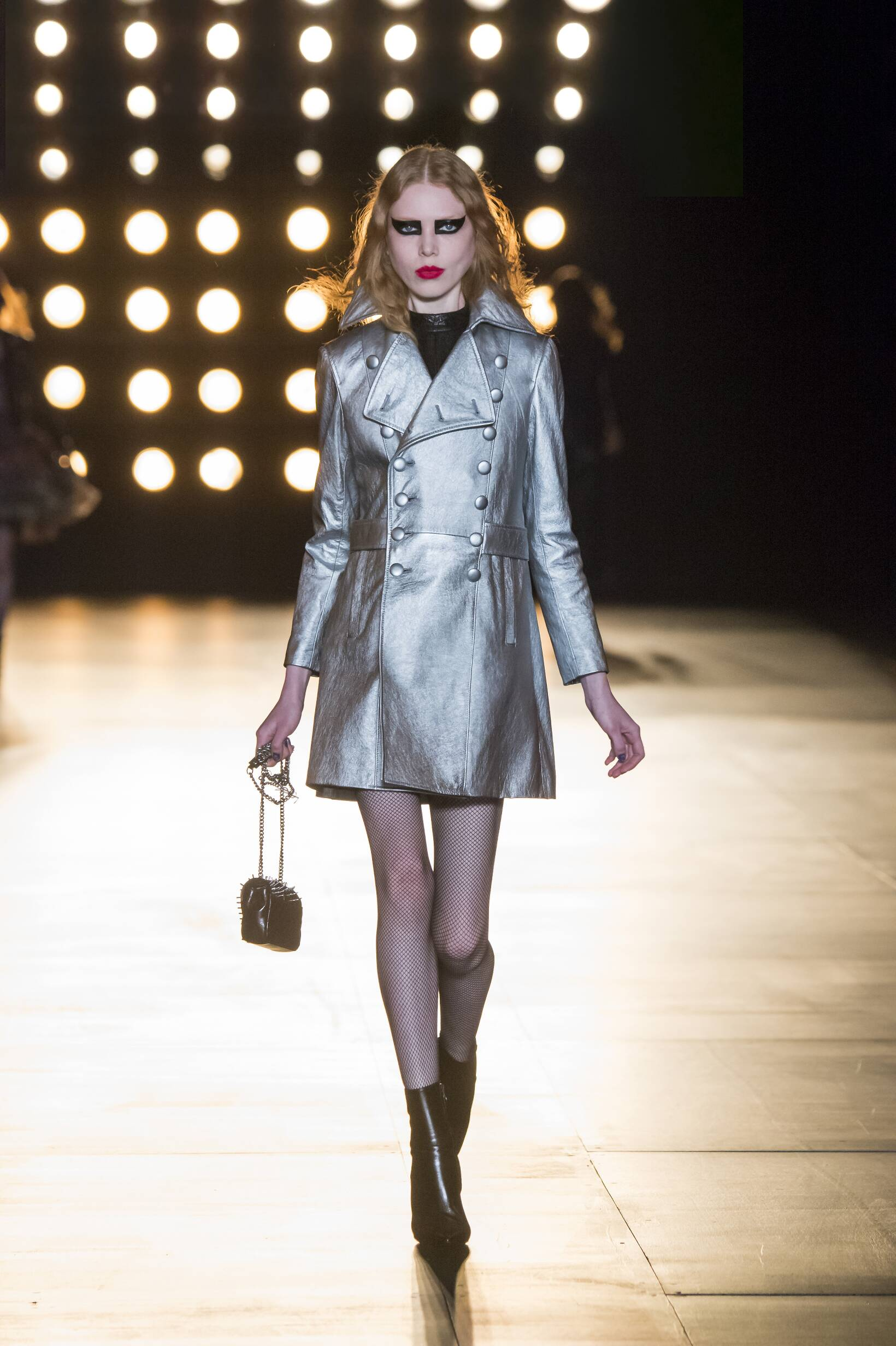 Runway Saint Laurent Fall Winter 2015 16 Women's Collection Paris Fashion Week