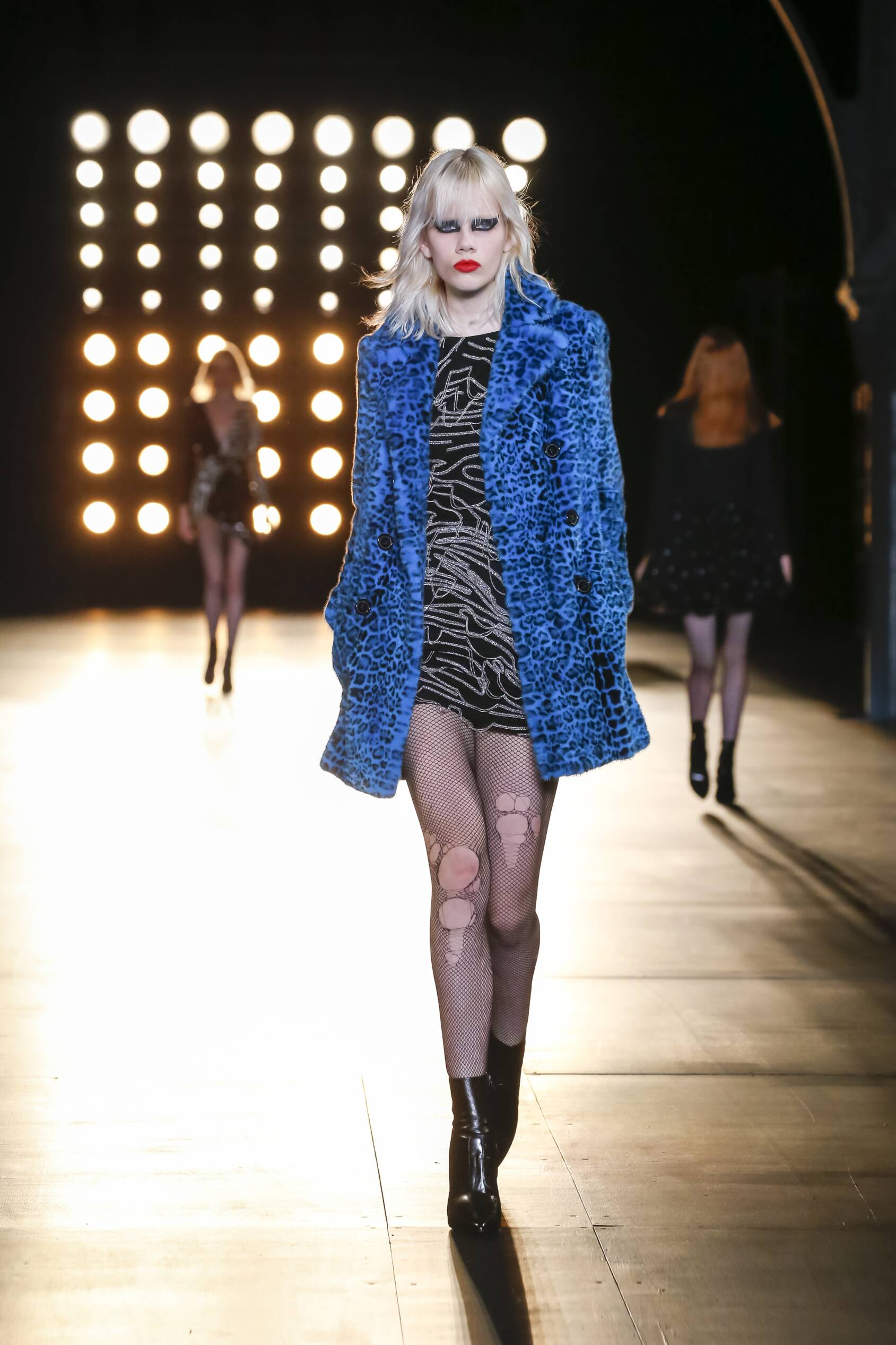 Runway Saint Laurent Fashion Show Winter 2015