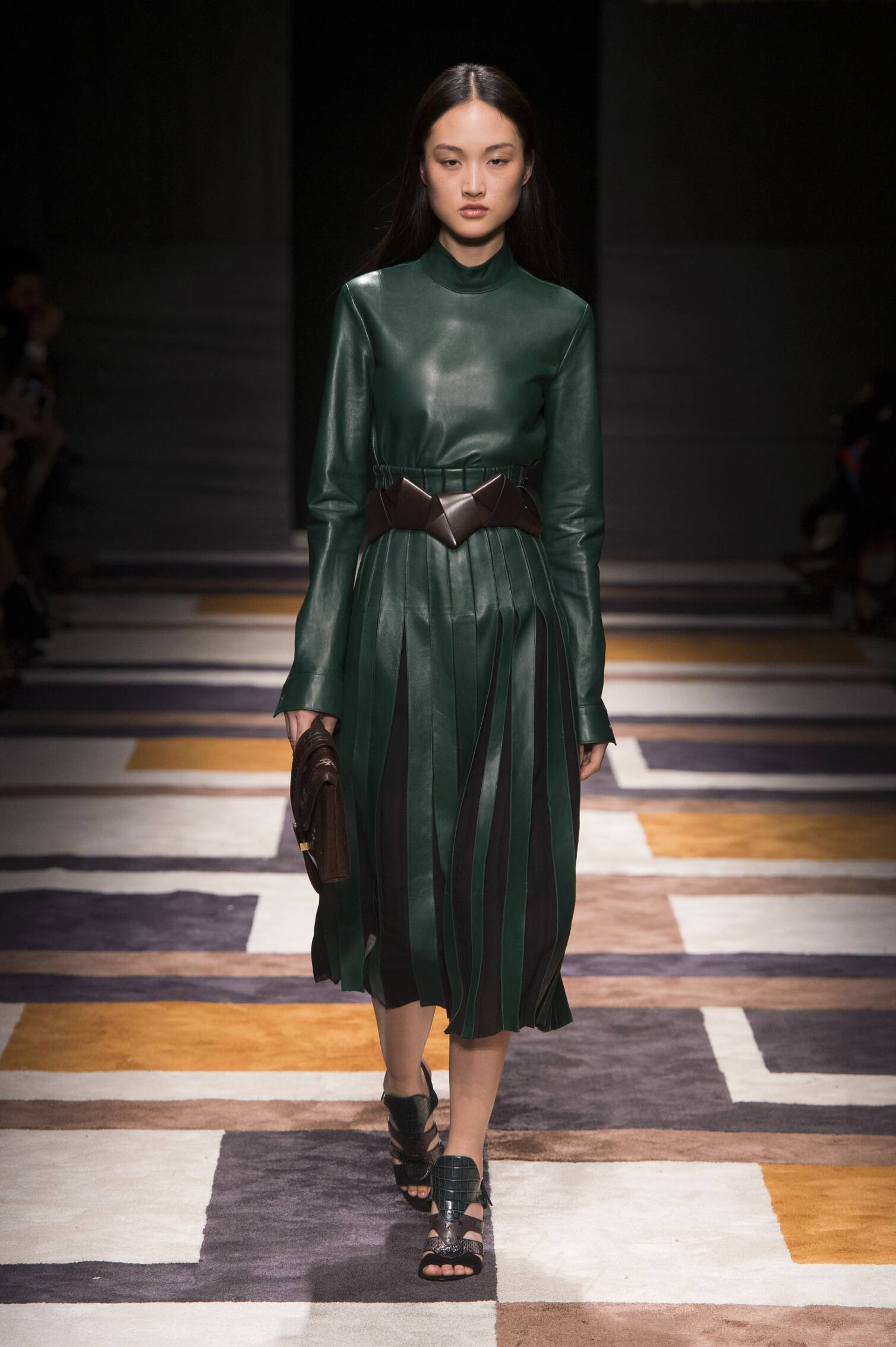 Runway Salvatore Ferragamo Fall Winter 2015 16 Women's Collection Milan Fashion Week