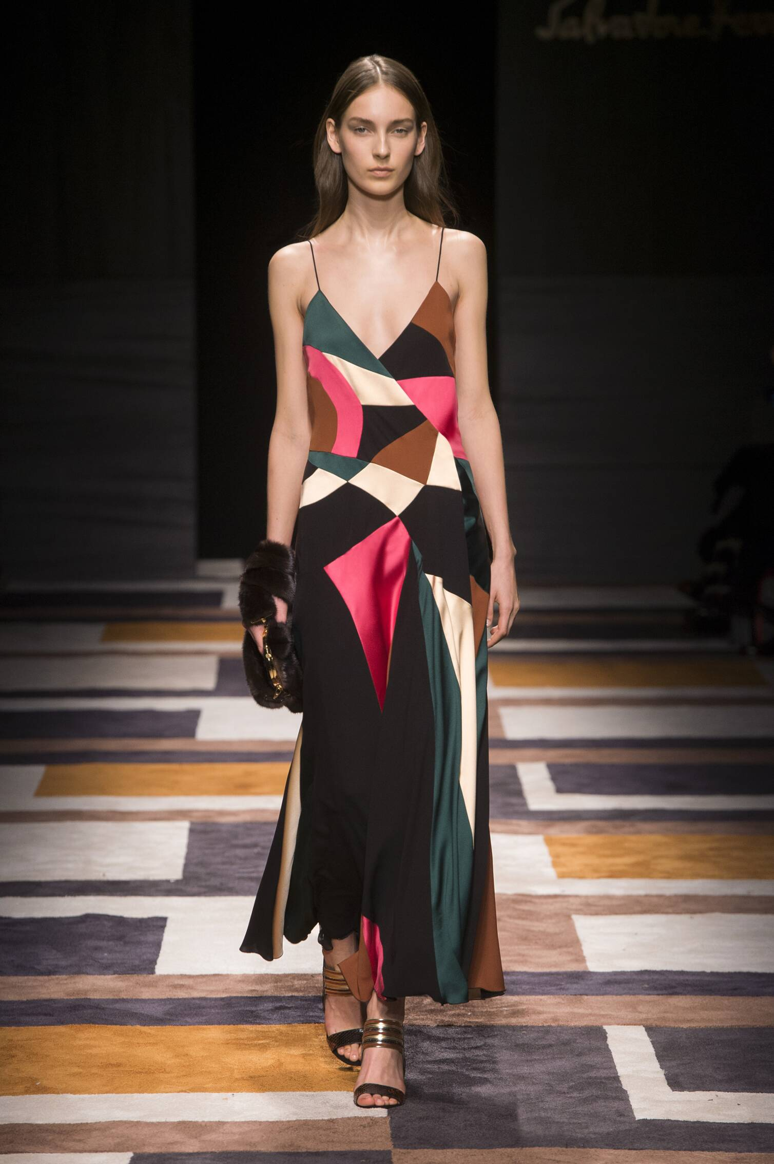 Runway Salvatore Ferragamo Fashion Show Winter 2015