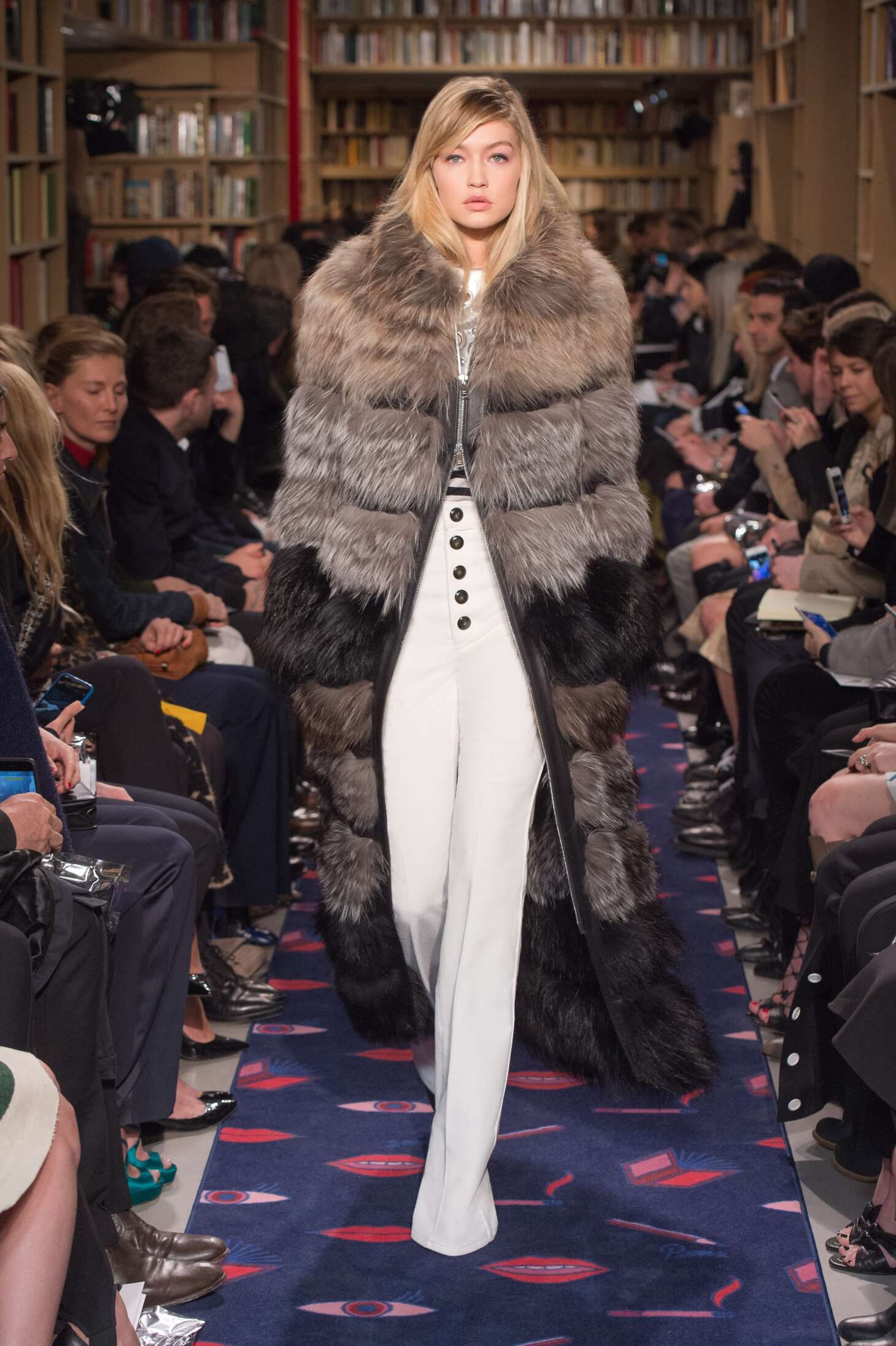 Runway Sonia Rykiel Fall Winter 2015 16 Women's Collection Paris Fashion Week