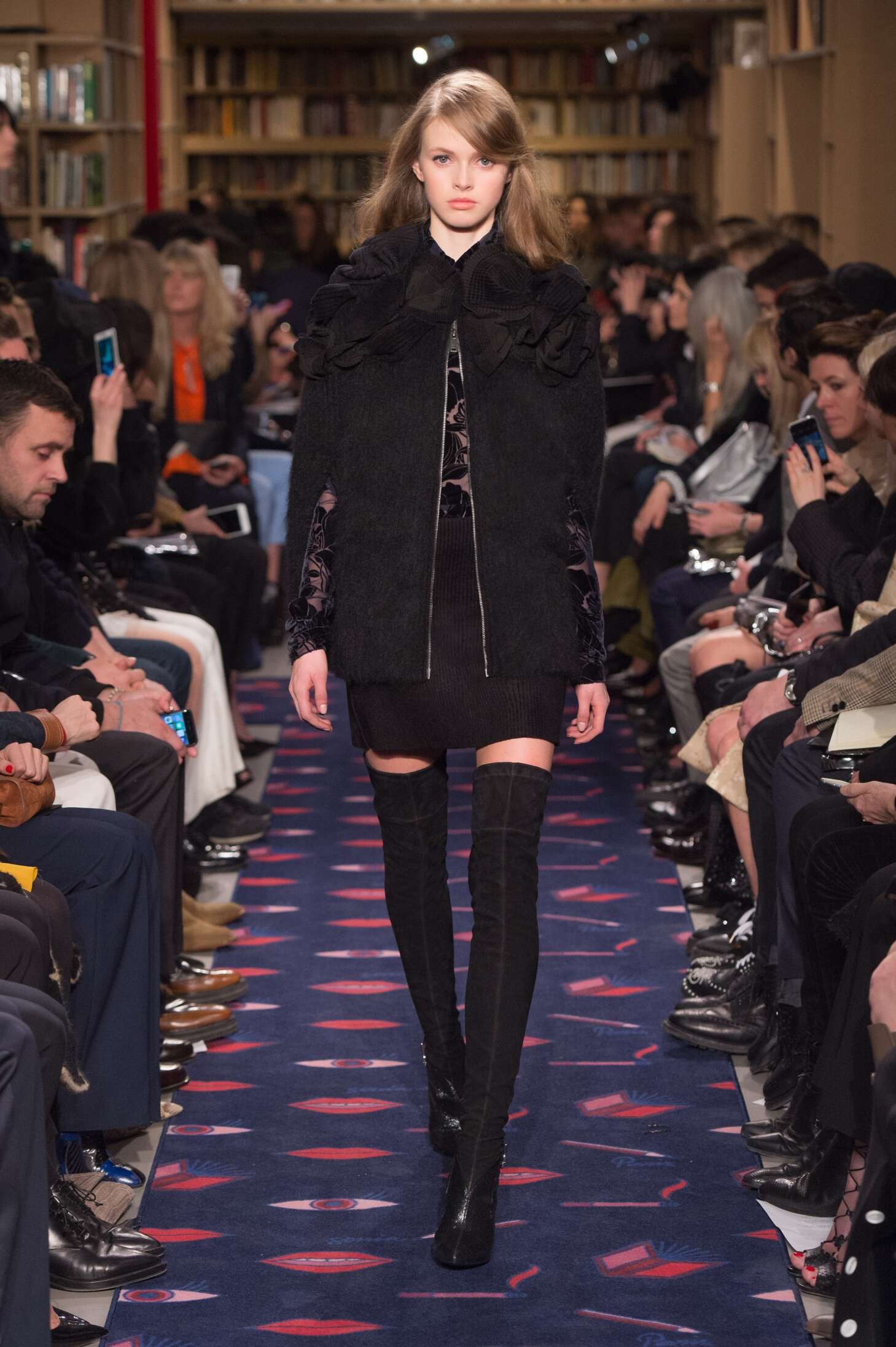 Runway Sonia Rykiel Fashion Show Winter 2015