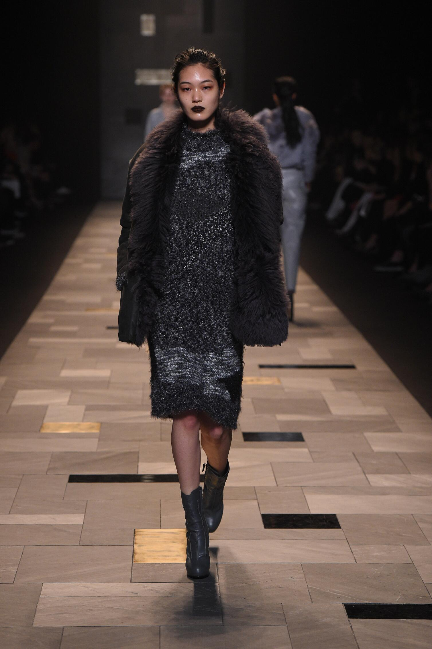 Runway Trussardi Fall Winter 2015 16 Women's Collection Milan Fashion Week