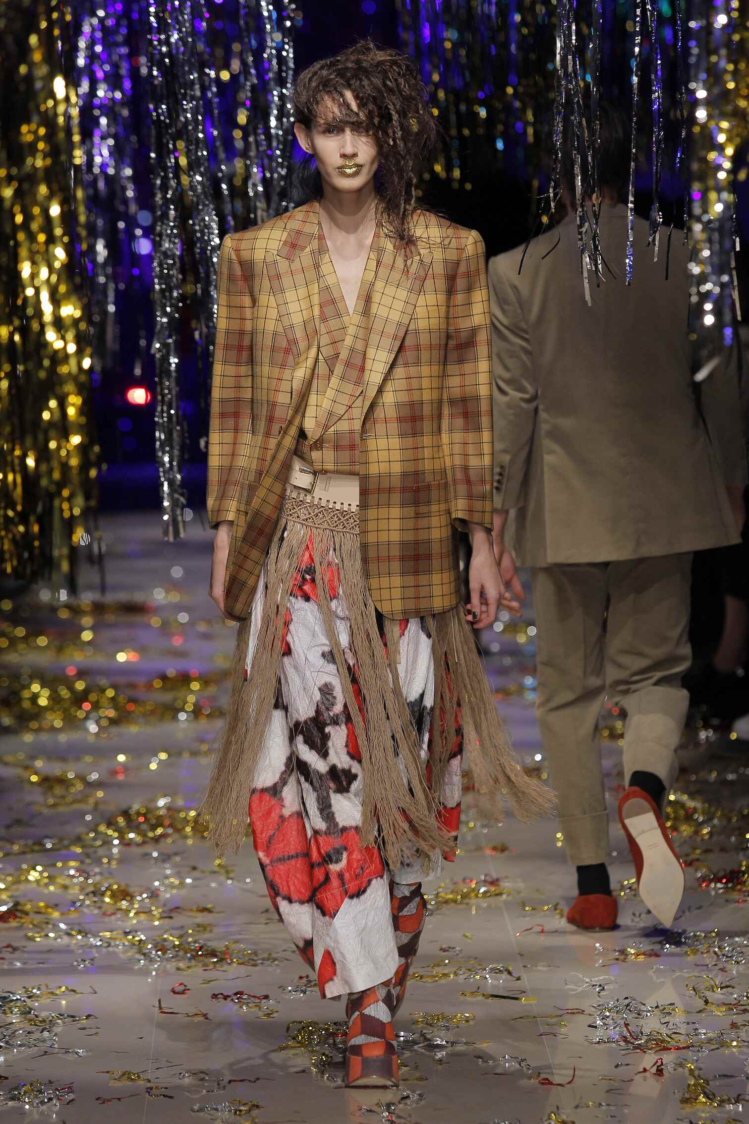 Runway Vivienne Westwood Gold Label Fall Winter 2015 16 Women's Collection Paris Fashion Week