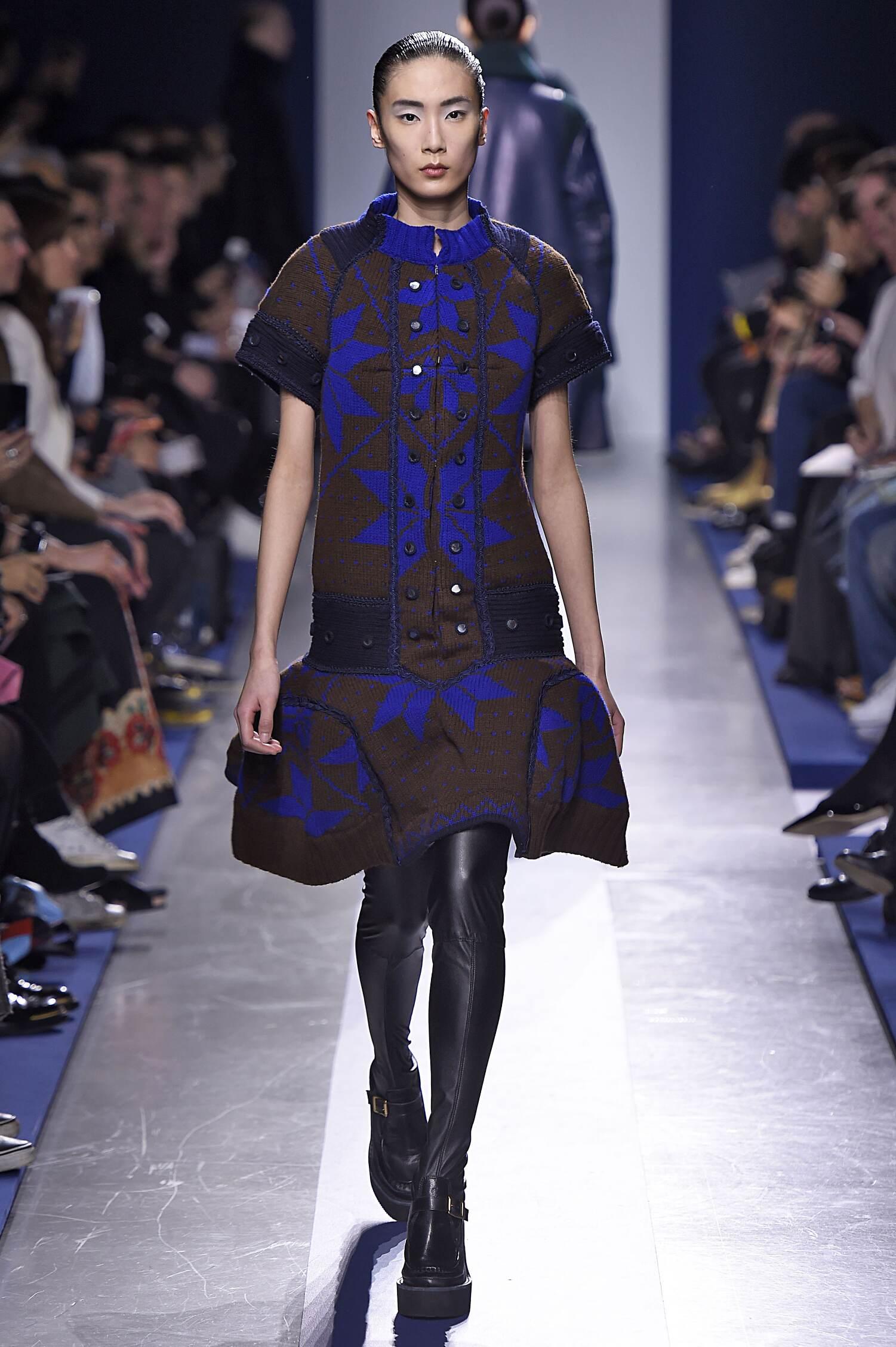 Sacai Collection Paris Fashion Week Womenswear