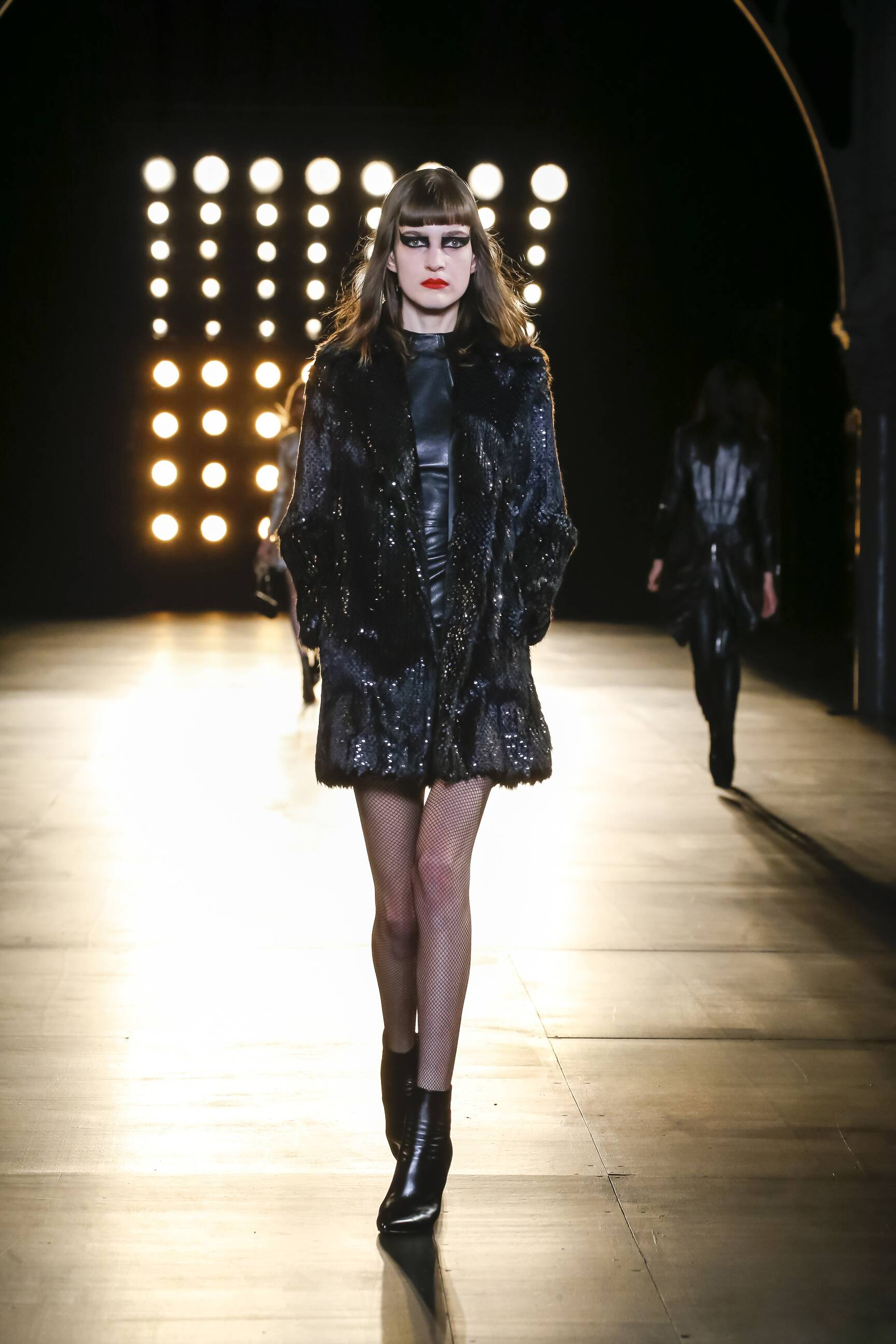 Saint Laurent Collection Catwalk
