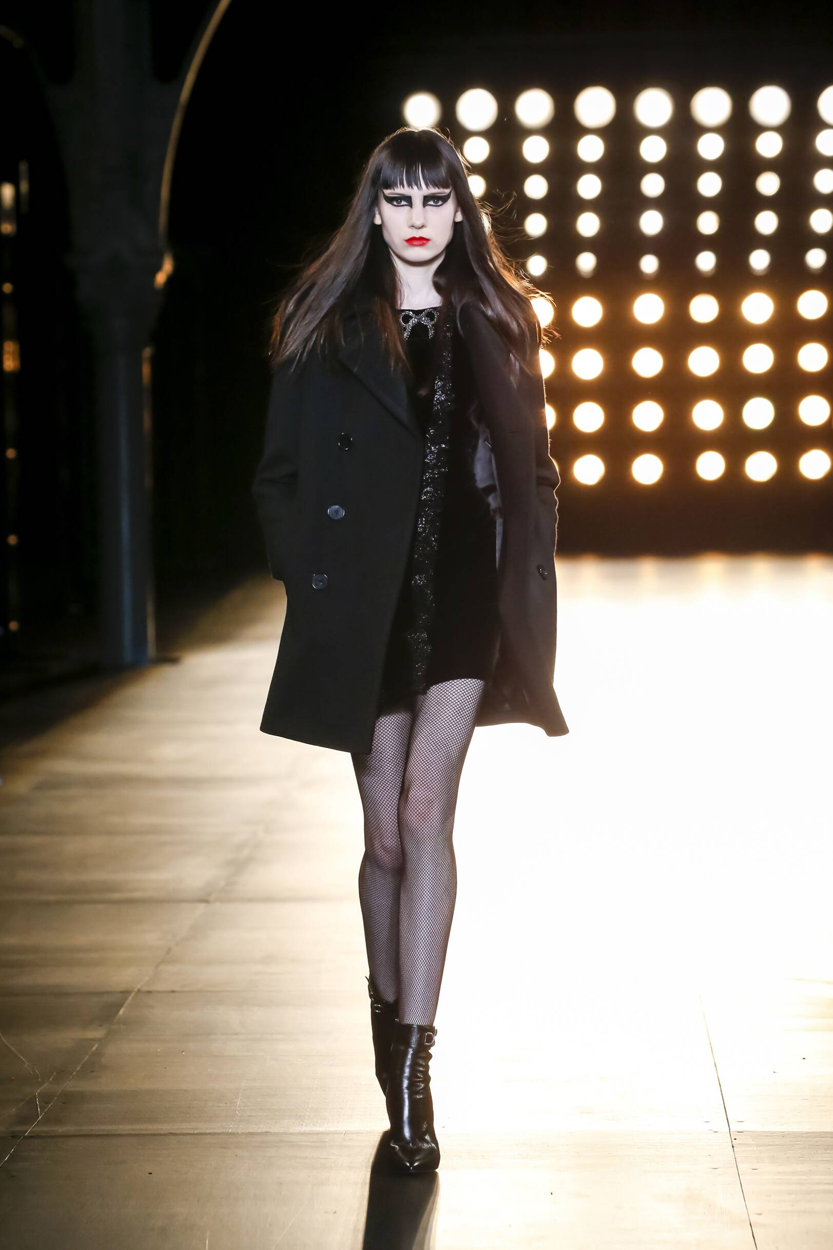 Saint Laurent Collection Fall 2015 Catwalk