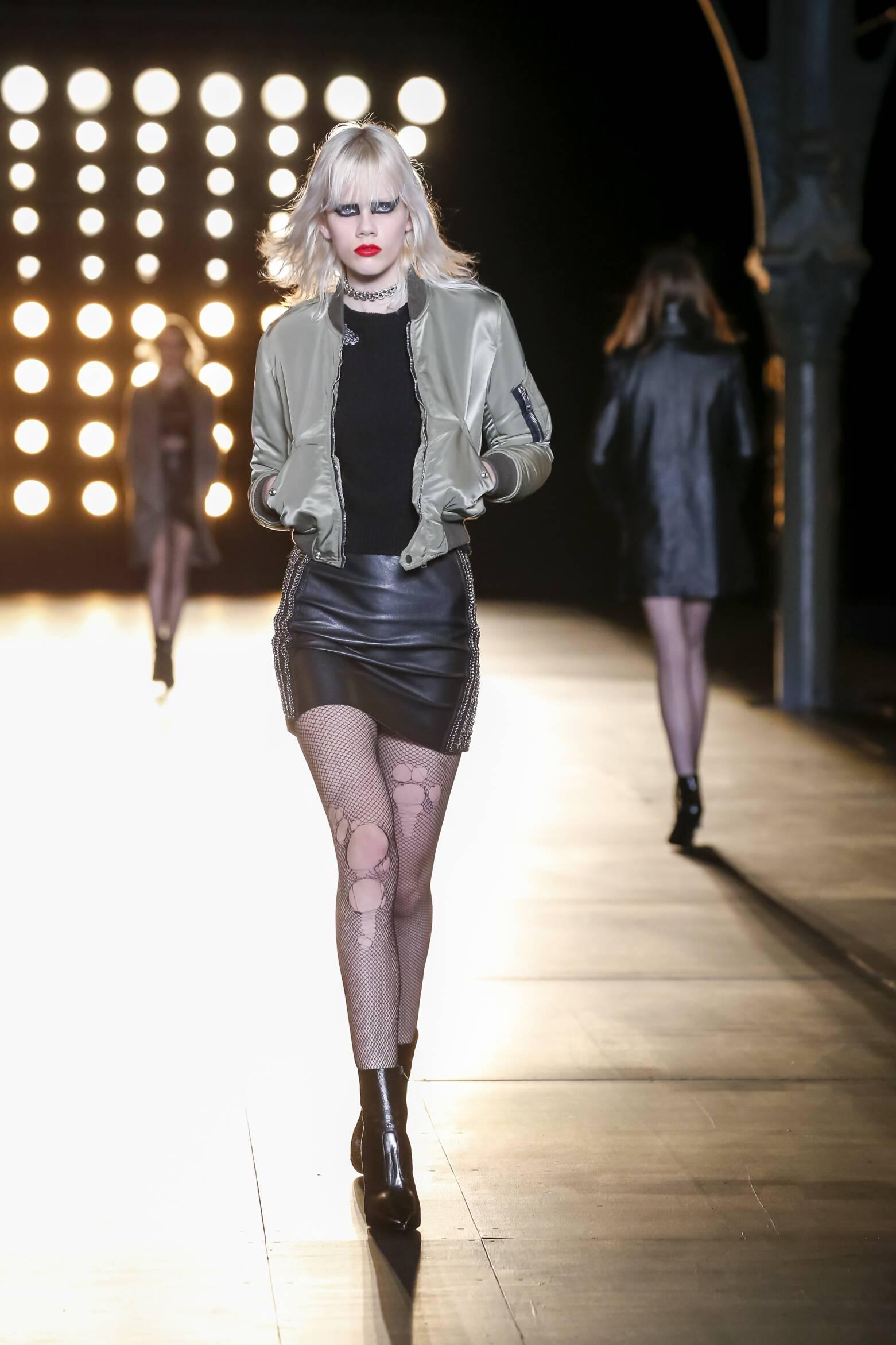 Saint Laurent Collection Paris Fashion Week
