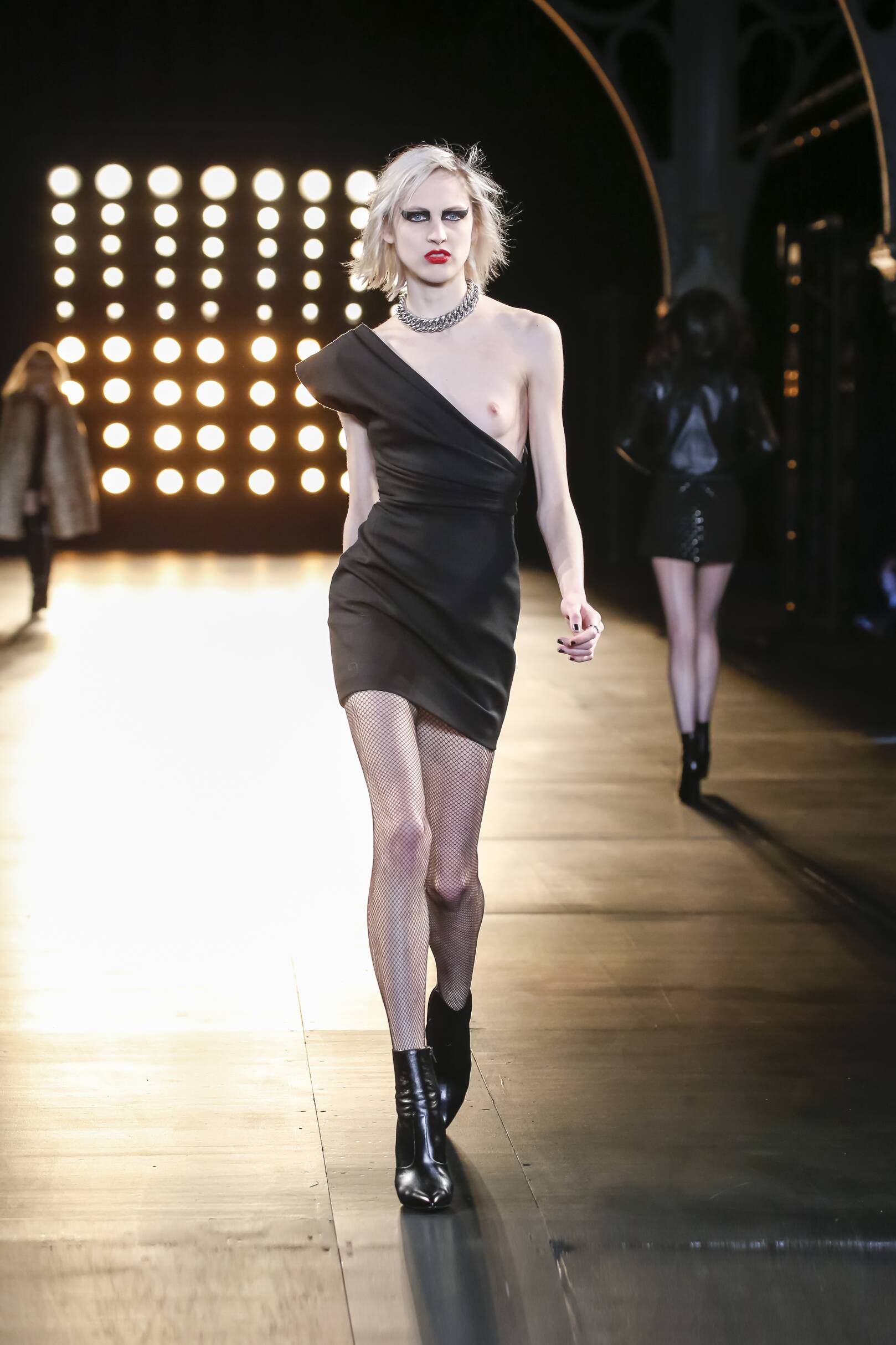 Saint Laurent Collection Trends Fall 2015 Catwalk