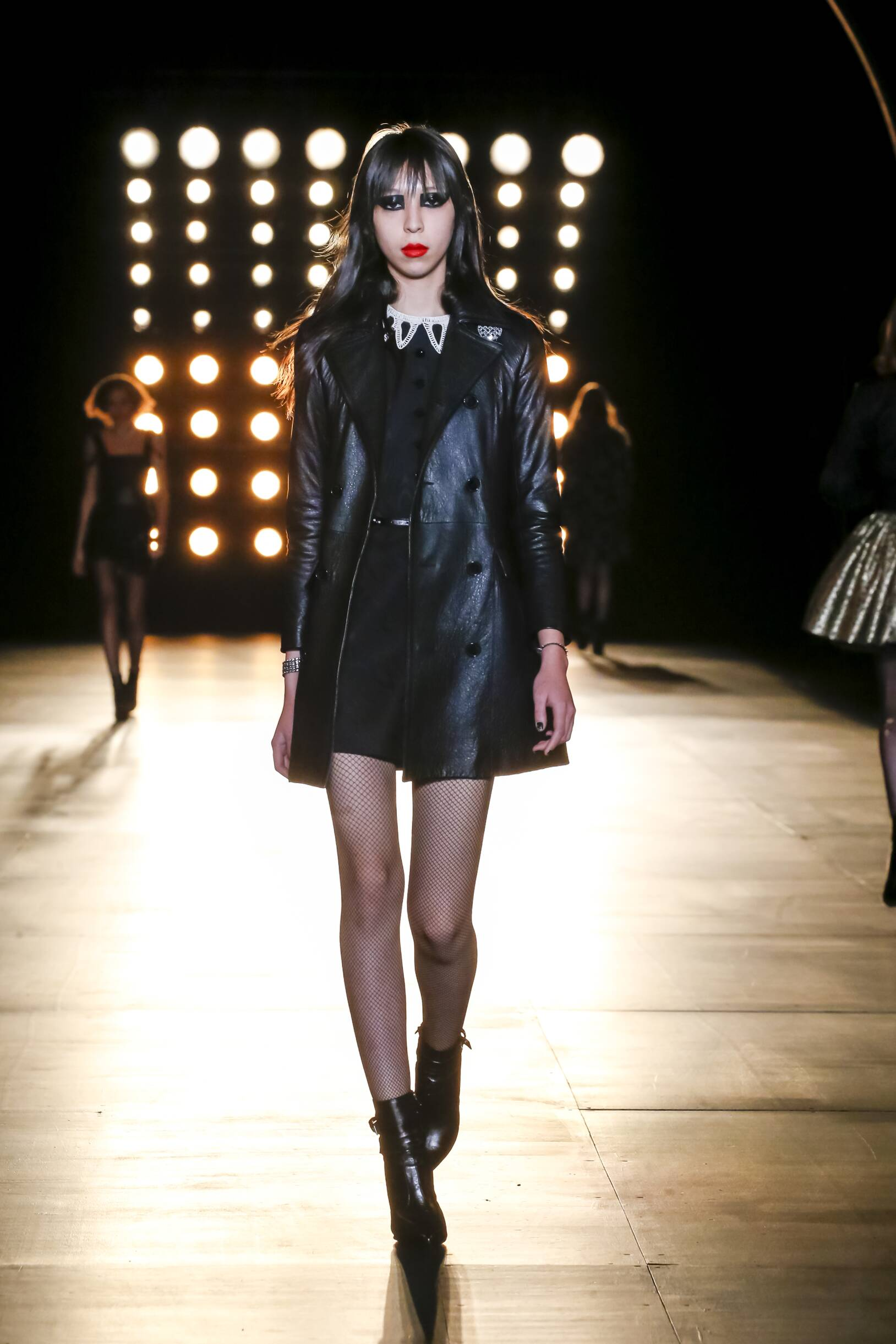 Saint Laurent Collection Winter 2015 Catwalk