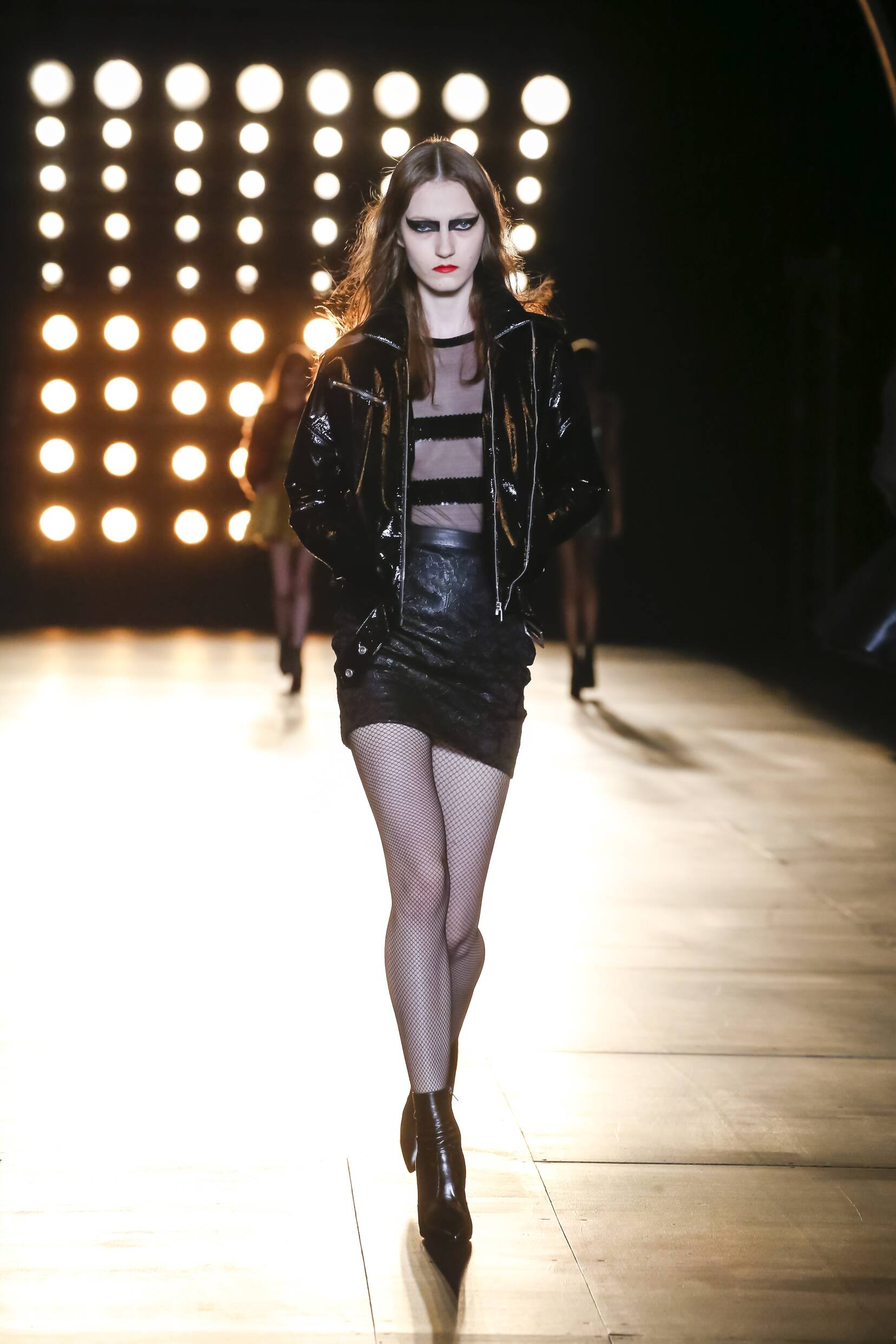 Saint Laurent Collection Woman Paris Fashion Week