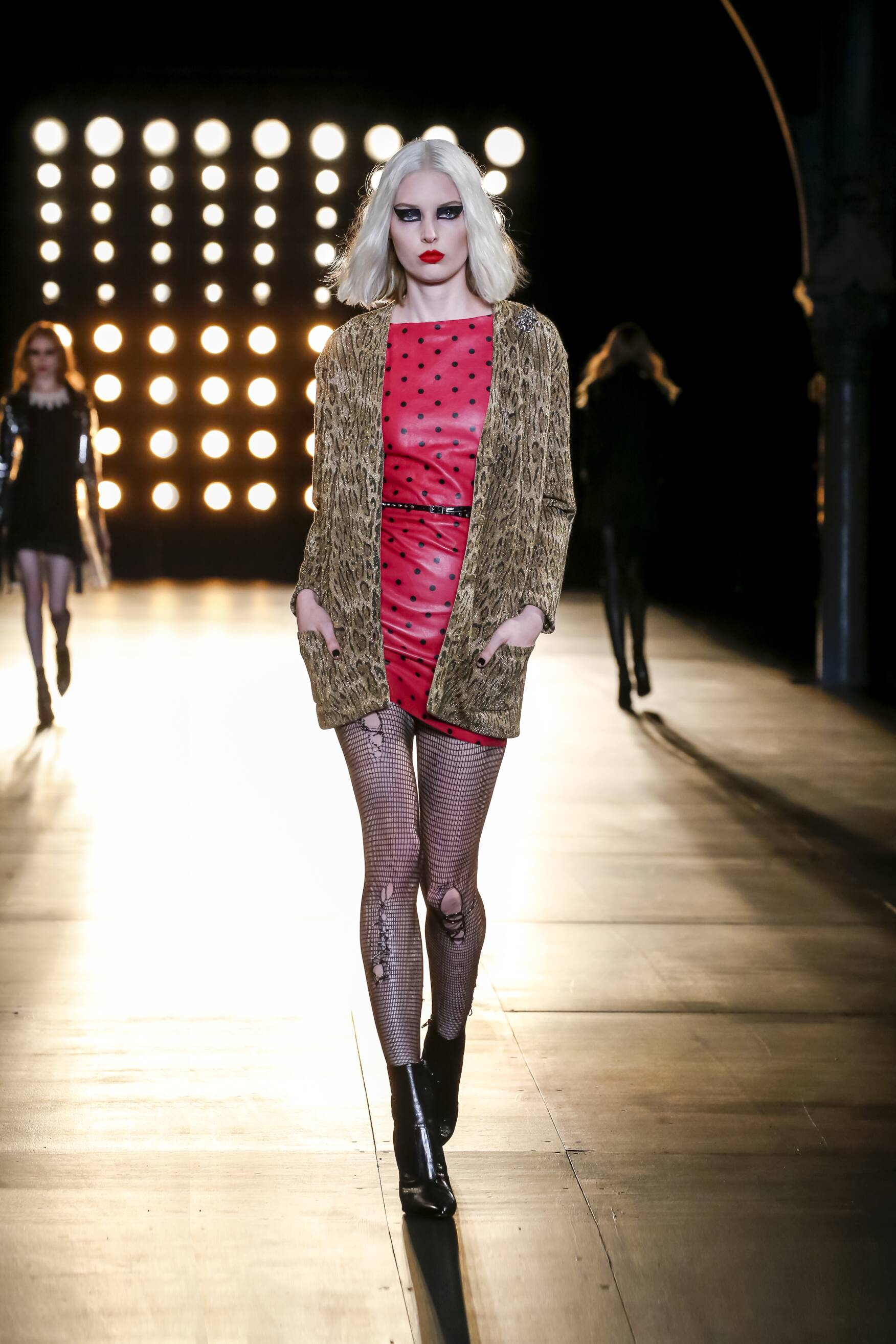 Saint Laurent Fall Winter 2015 16 Women's Collection Paris Fashion Week