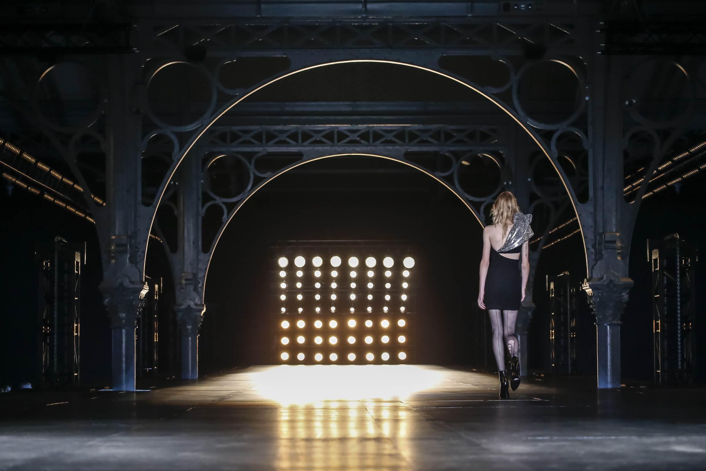 Saint Laurent Fashion Show Finale