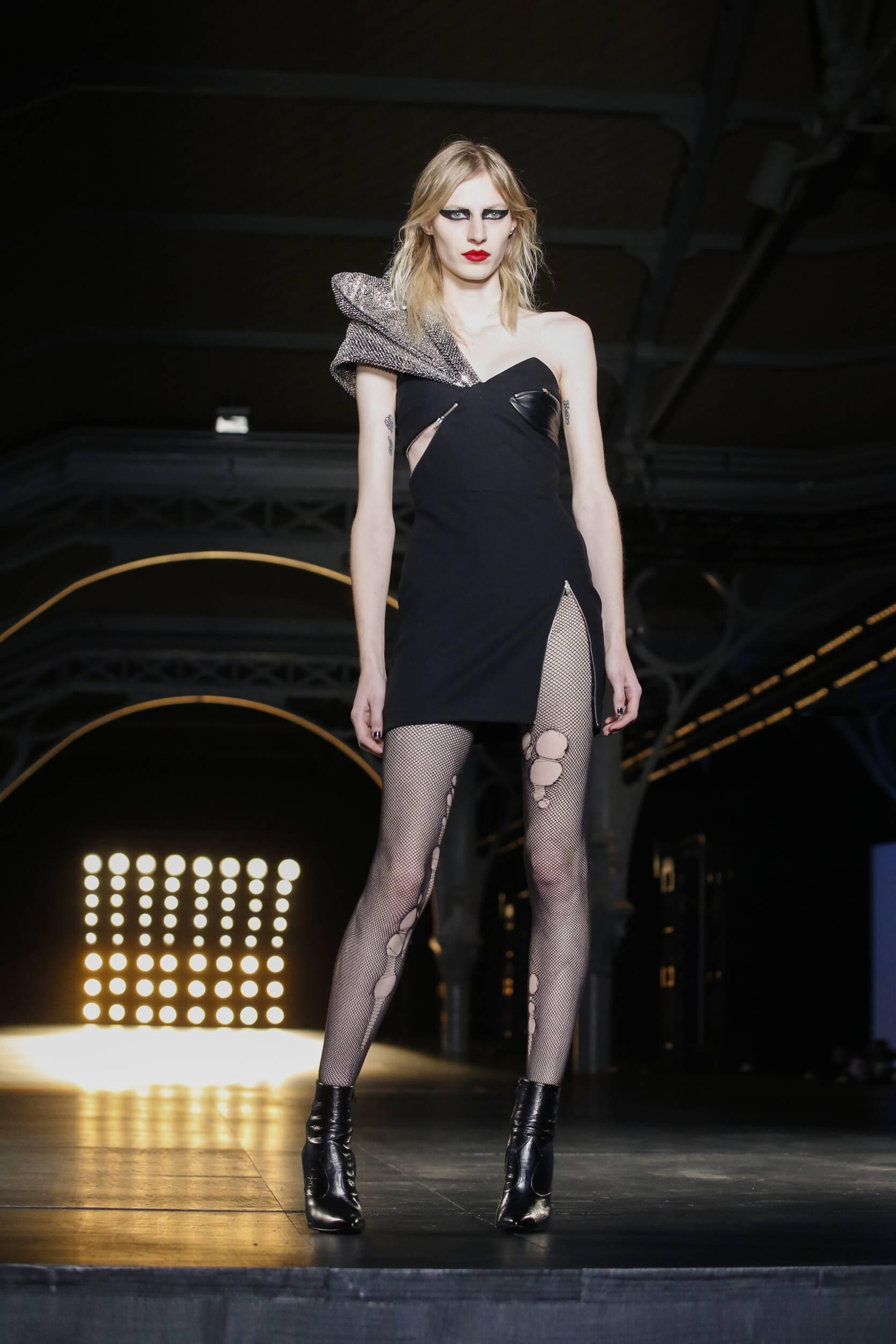 Saint Laurent Model Catwalk