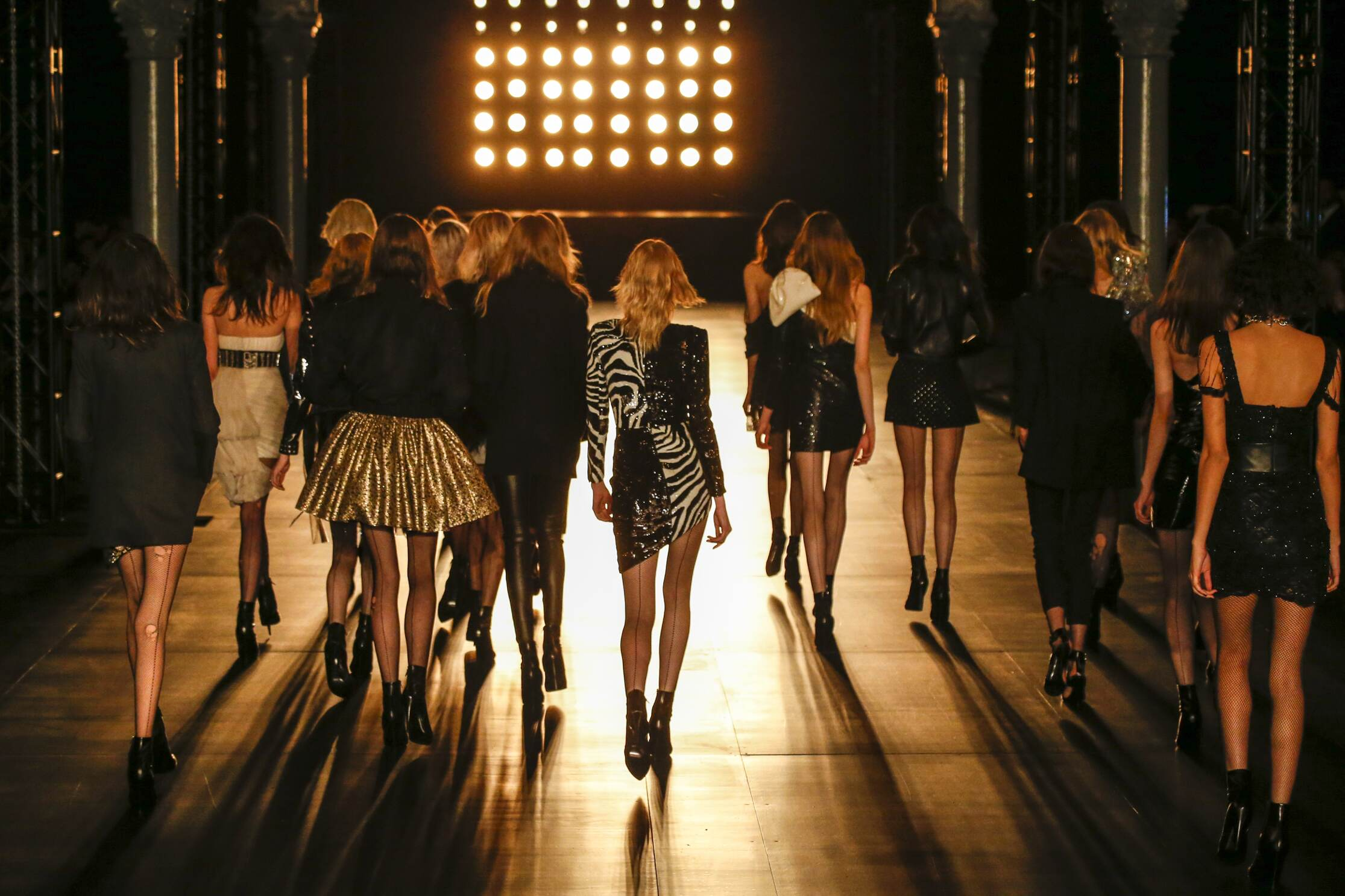 Saint Laurent Models Finale