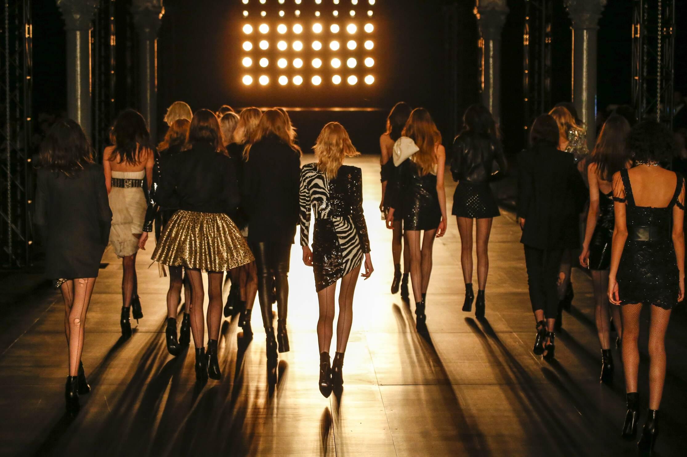 Saint Laurent Models Finale