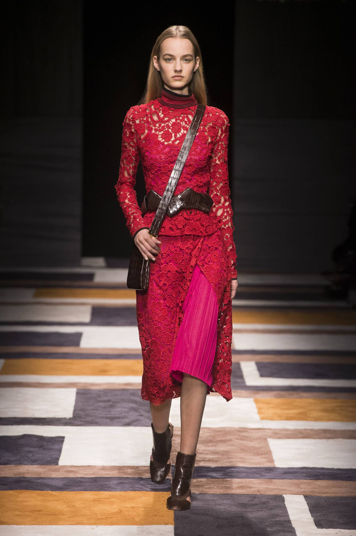Salvatore Ferragamo Collection Fall 2015 Catwalk