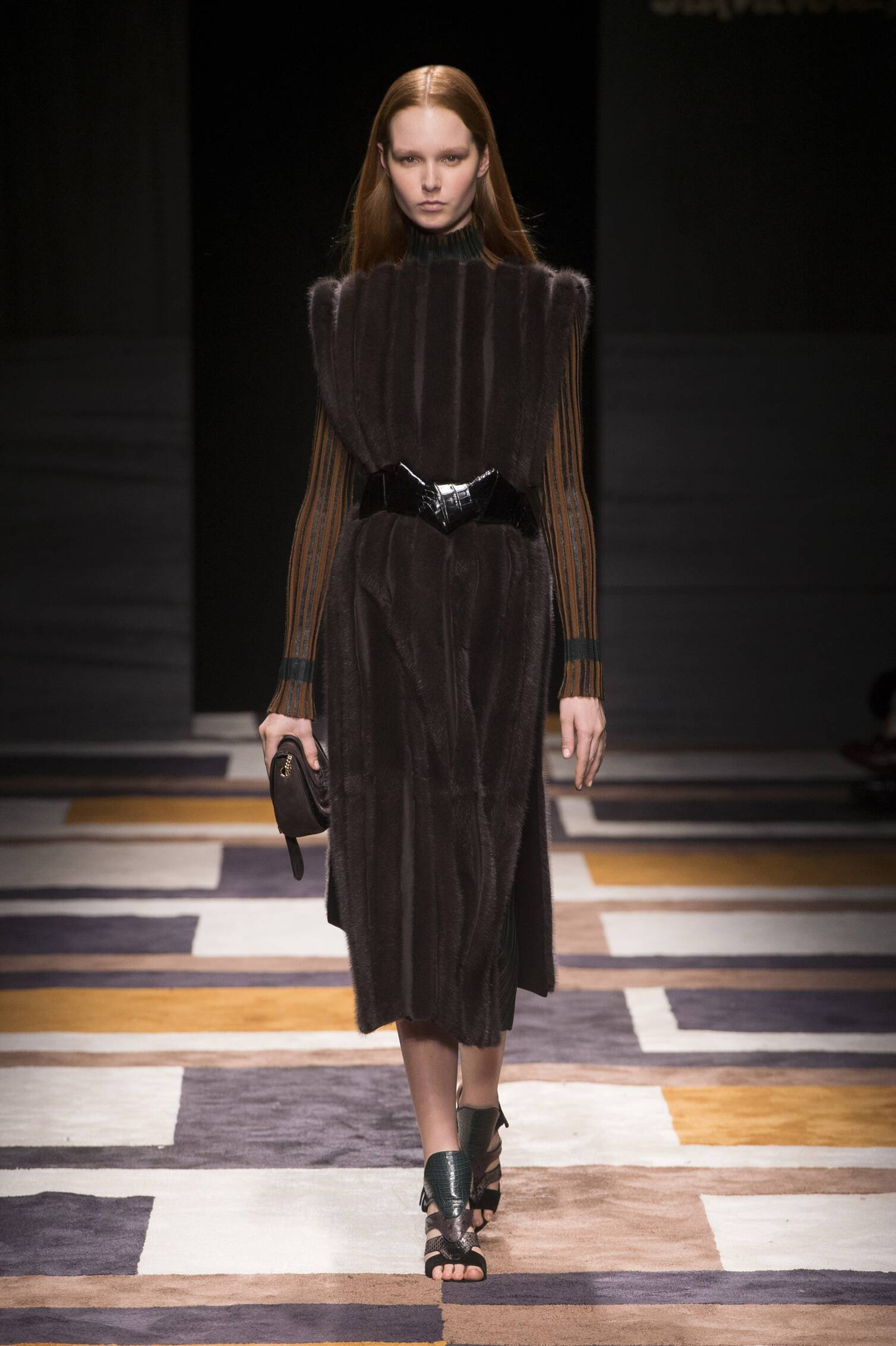 Salvatore Ferragamo Collection Milan Fashion Week Womenswear