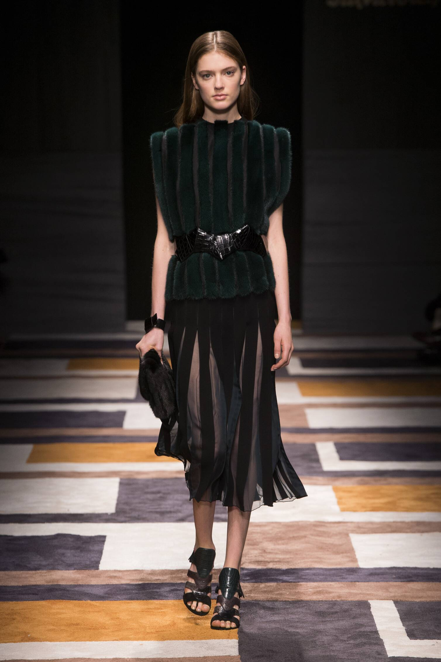 Salvatore Ferragamo Collection Milan Fashion Week