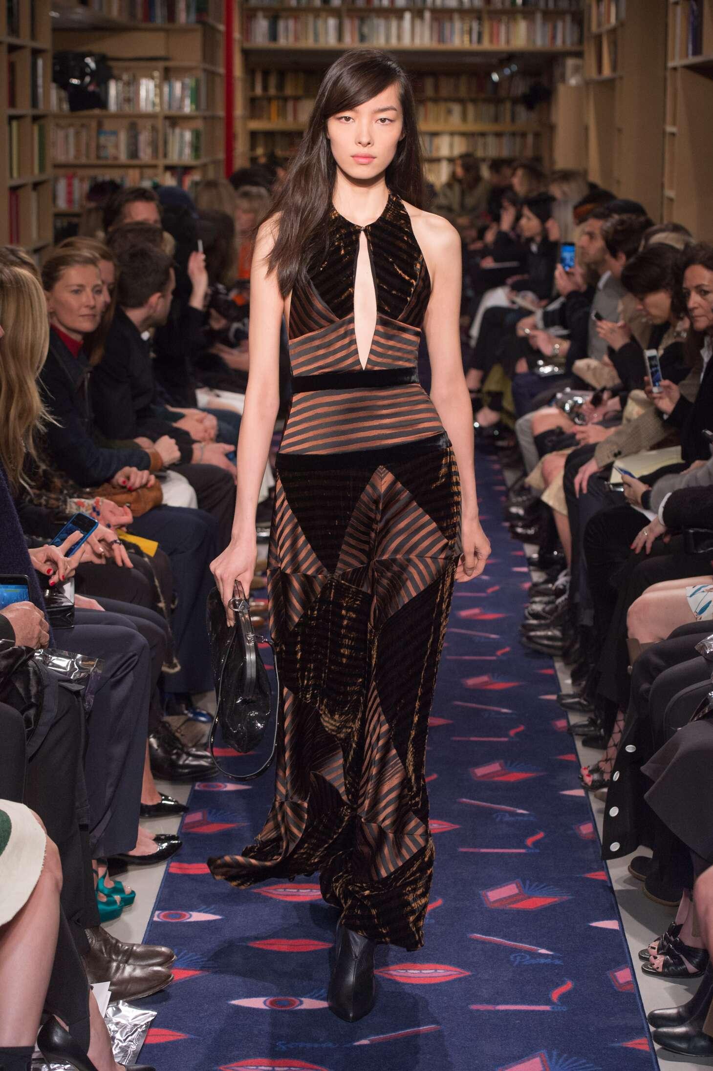 Sonia Rykiel Collection Woman Paris Fashion Week