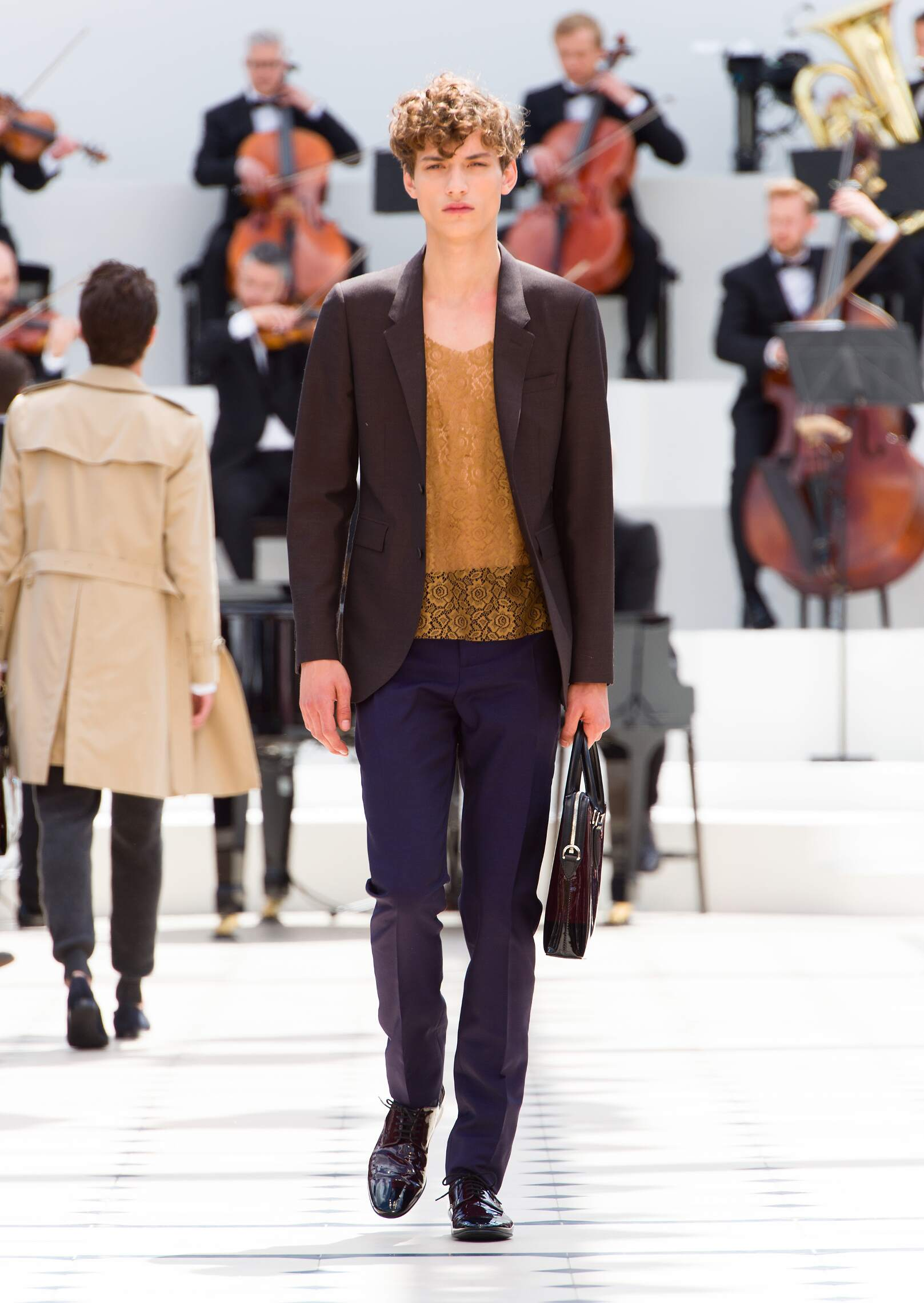 Spring 2016 Men Fashion Show Burberry Prorsum Collection