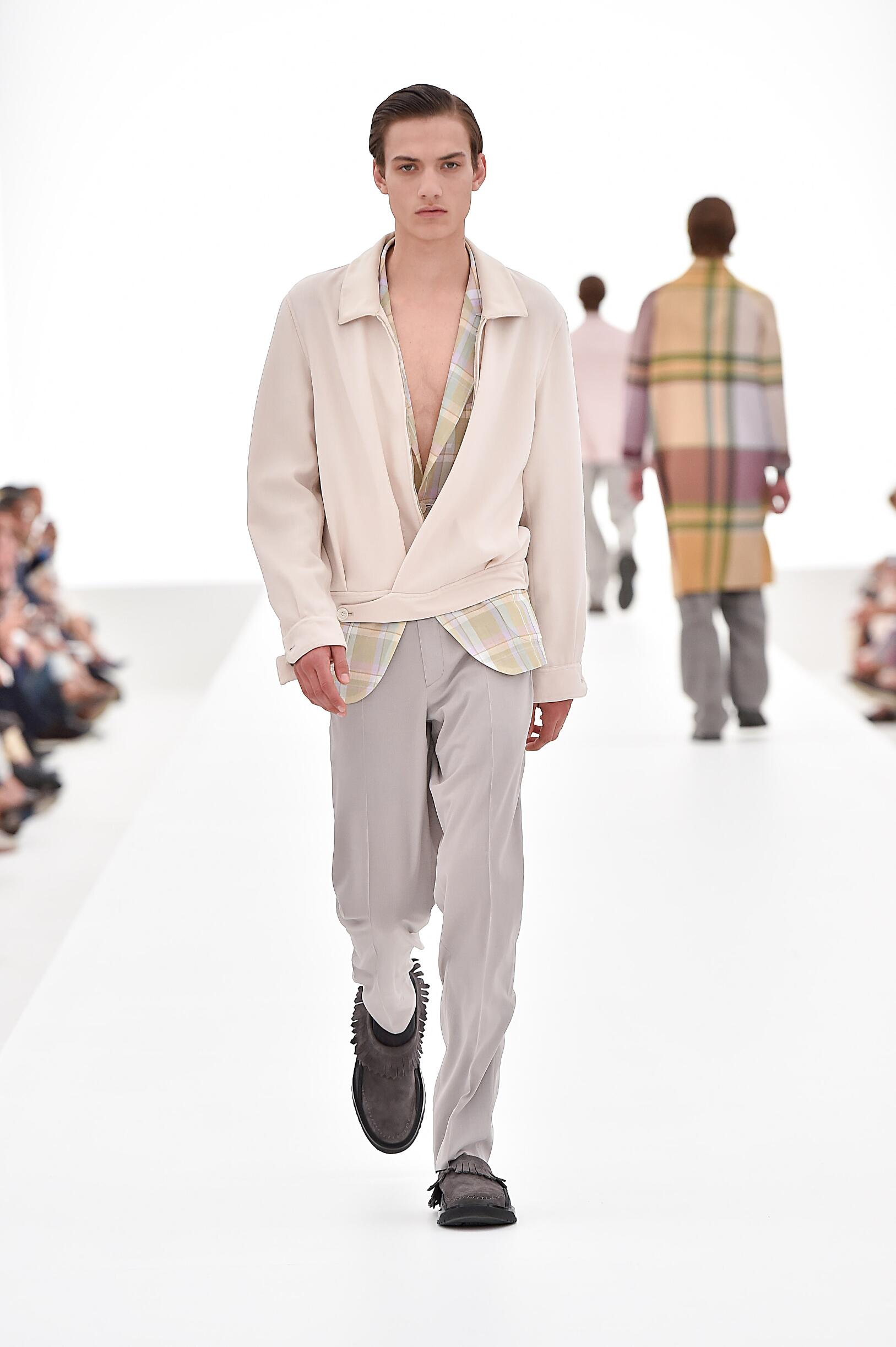 Spring Fashion 2016 Ermenegildo Zegna Couture Collection