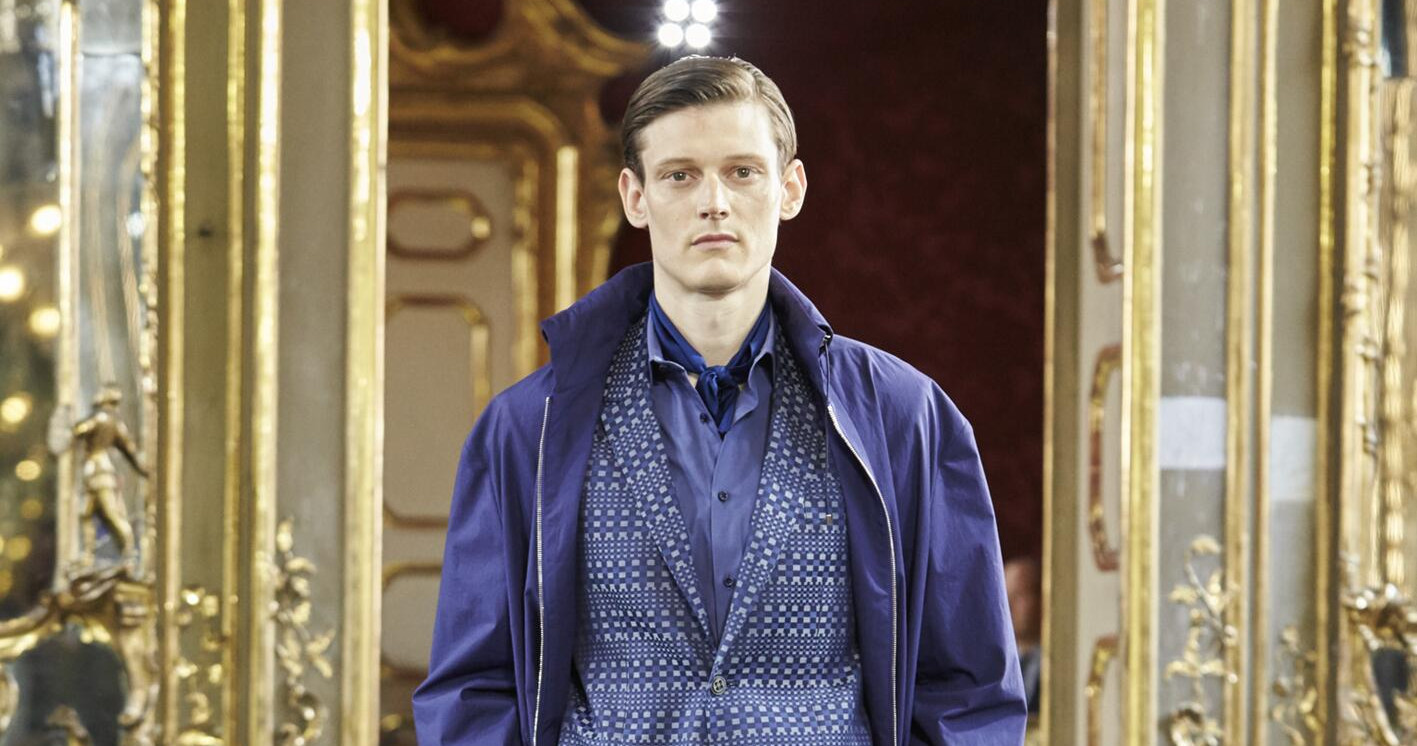 Spring Fashion Man Corneliani Collection 2015