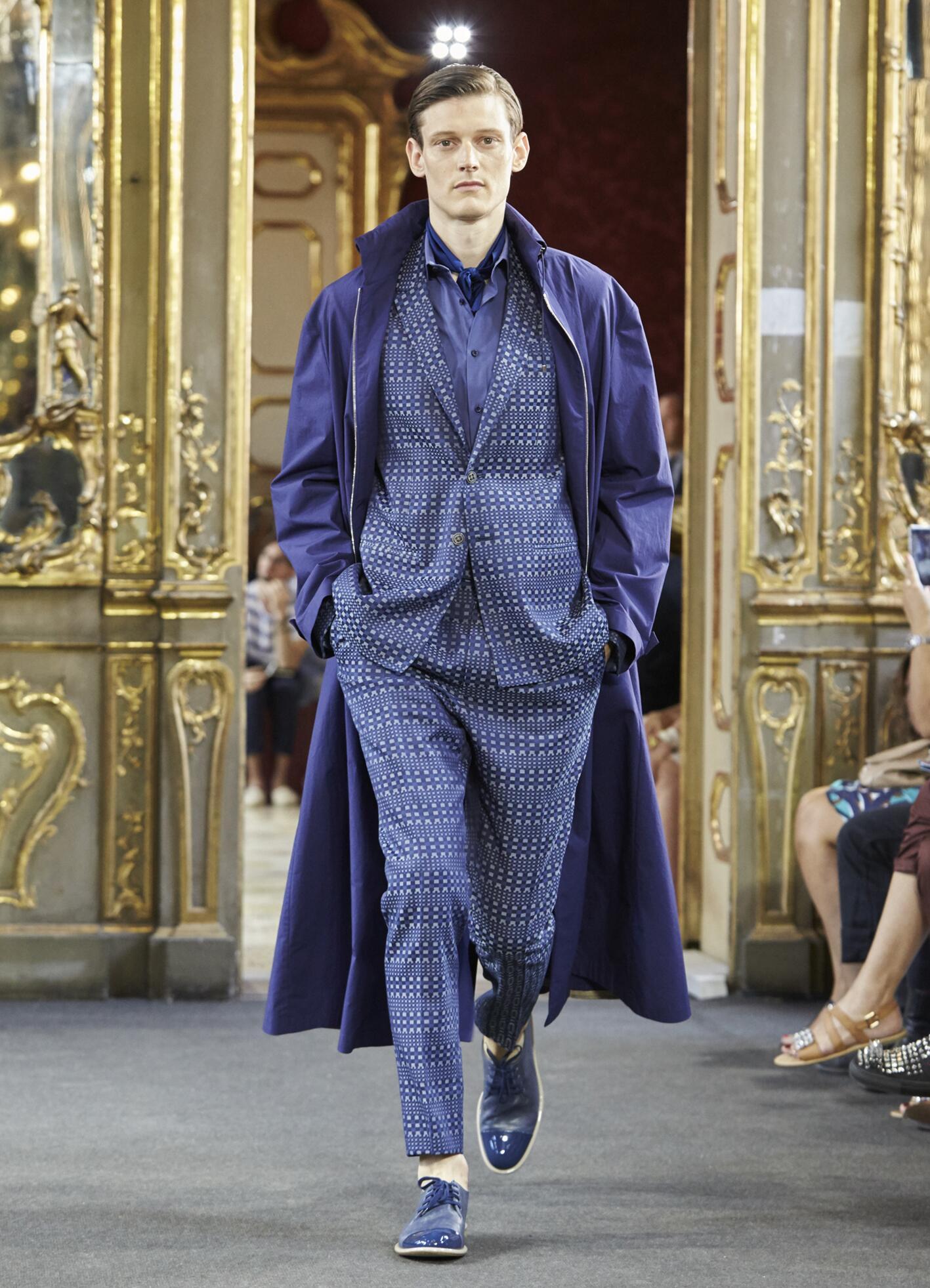 Spring Fashion Man Corneliani Collection