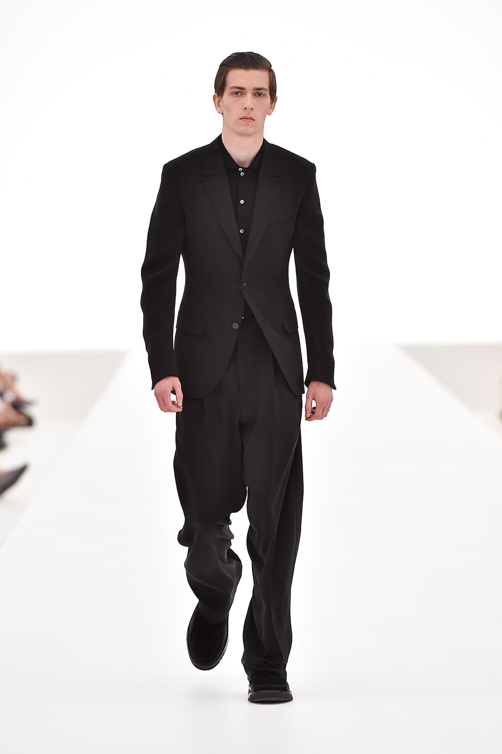 Spring Fashion Man Ermenegildo Zegna Couture Collection