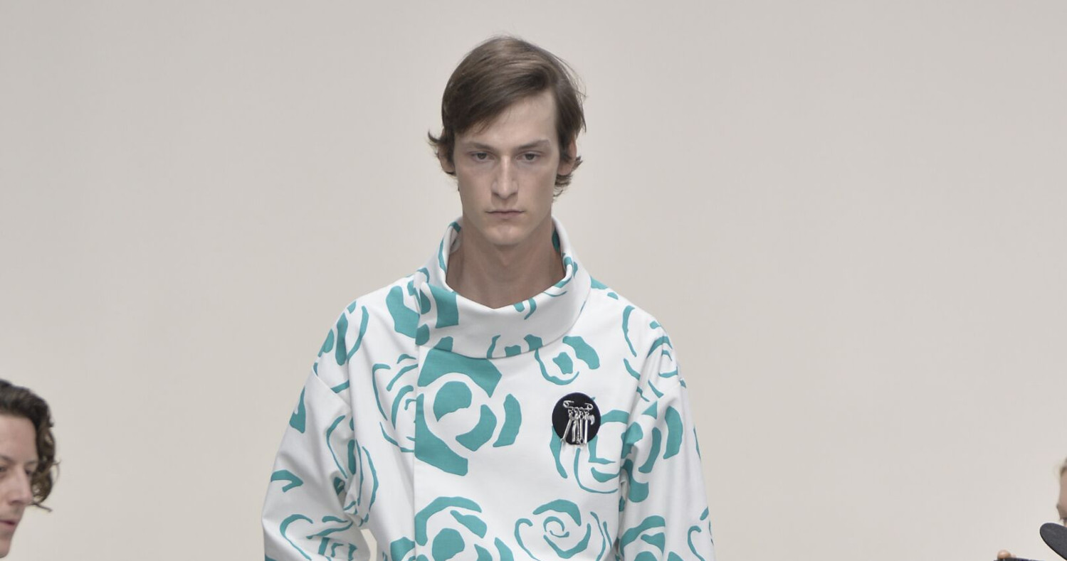 Spring Fashion Man J.W. Anderson Collection 2015