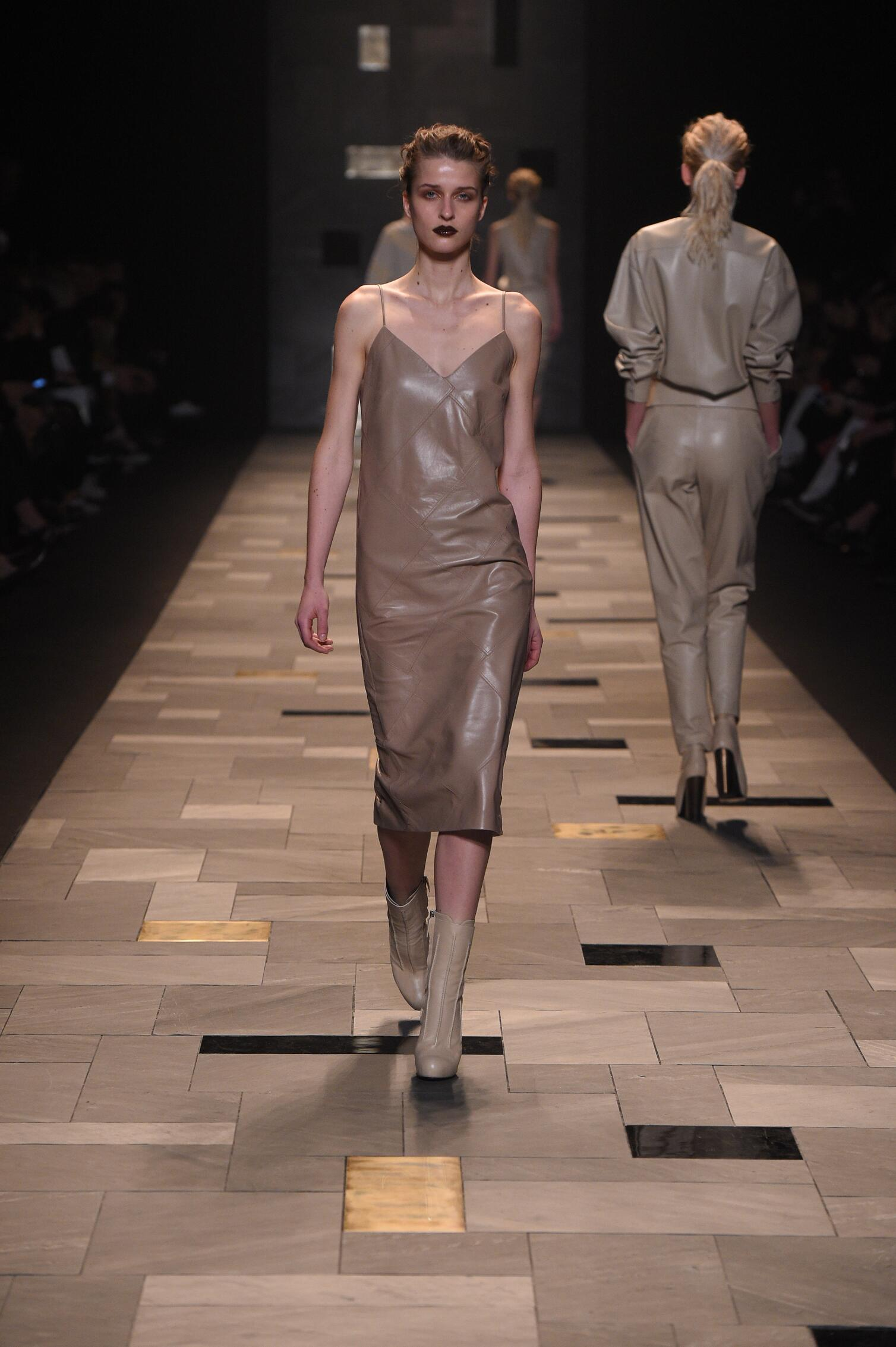 Trussardi Collection Fall 2015 Catwalk