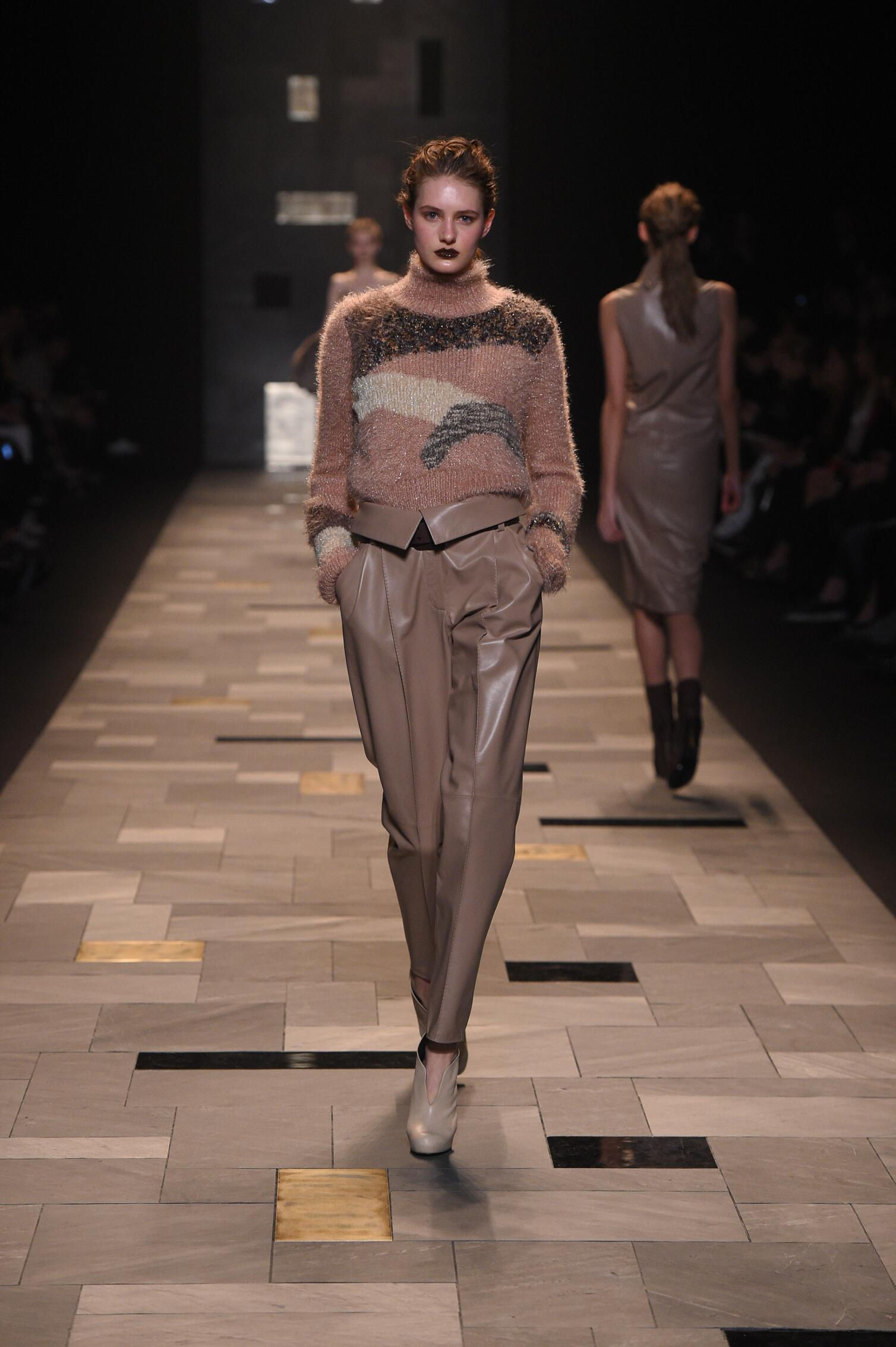 Trussardi Collection Milan Fashion Week Womenswear