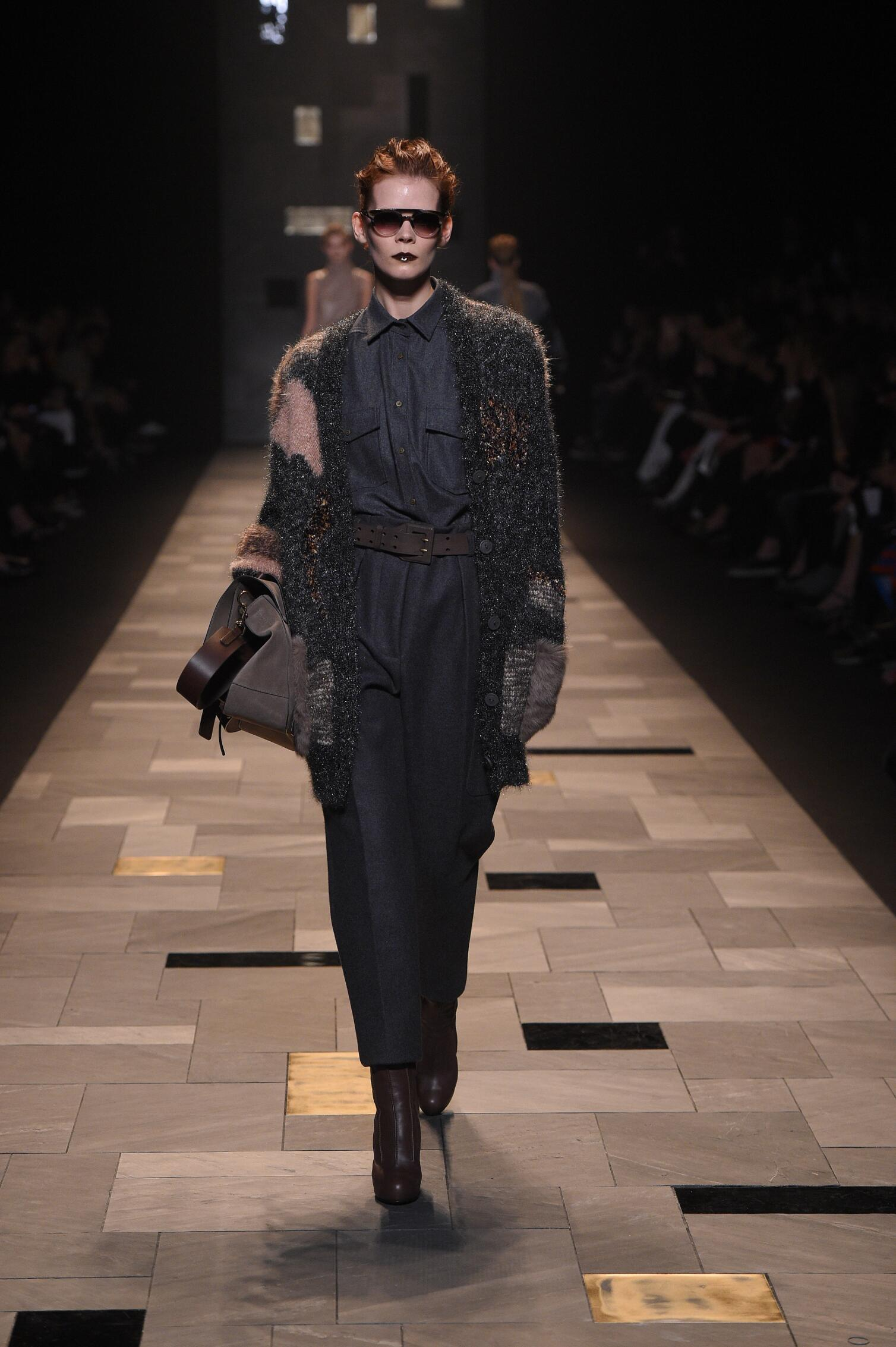 Trussardi Collection Milan Fashion Week