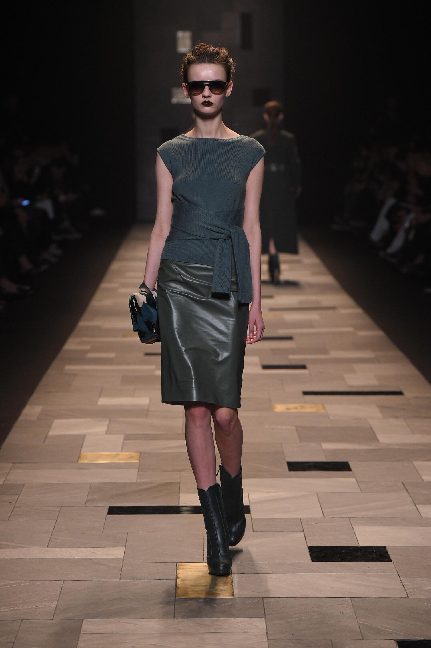 Trussardi Collection Winter 2015 Catwalk