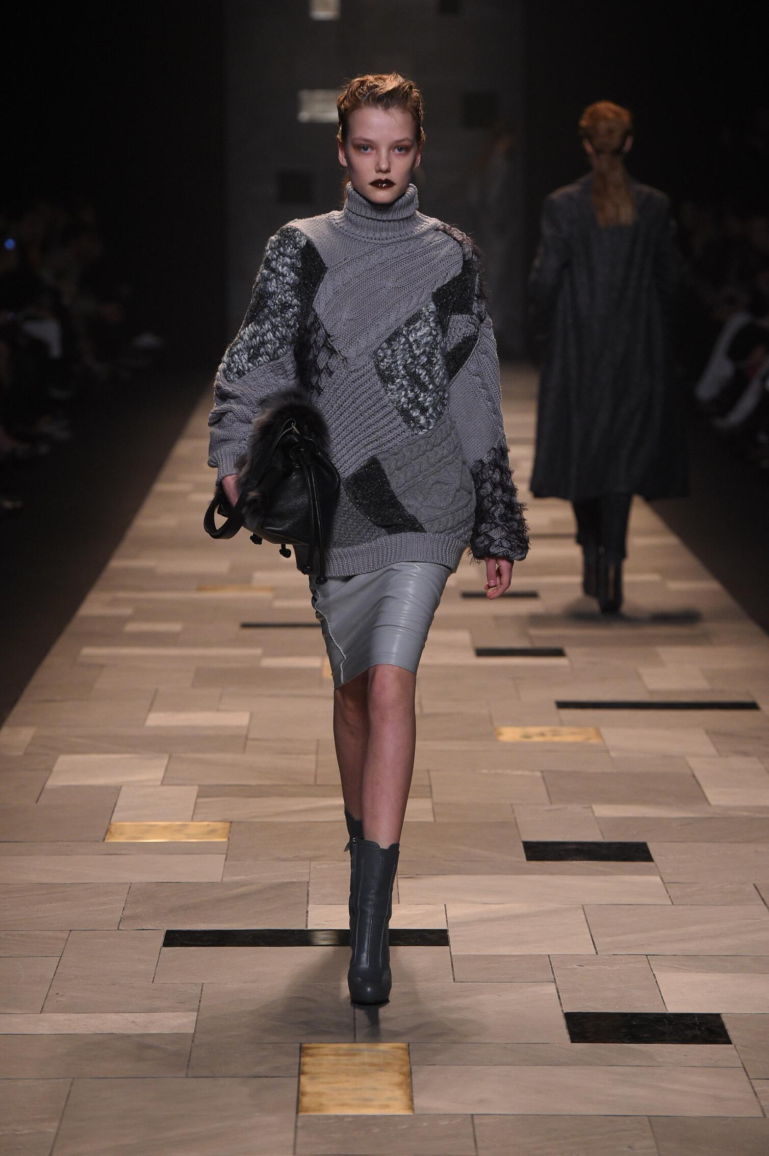 Trussardi Fall Winter 2015 16 Womens Collection Milan Fashion Week