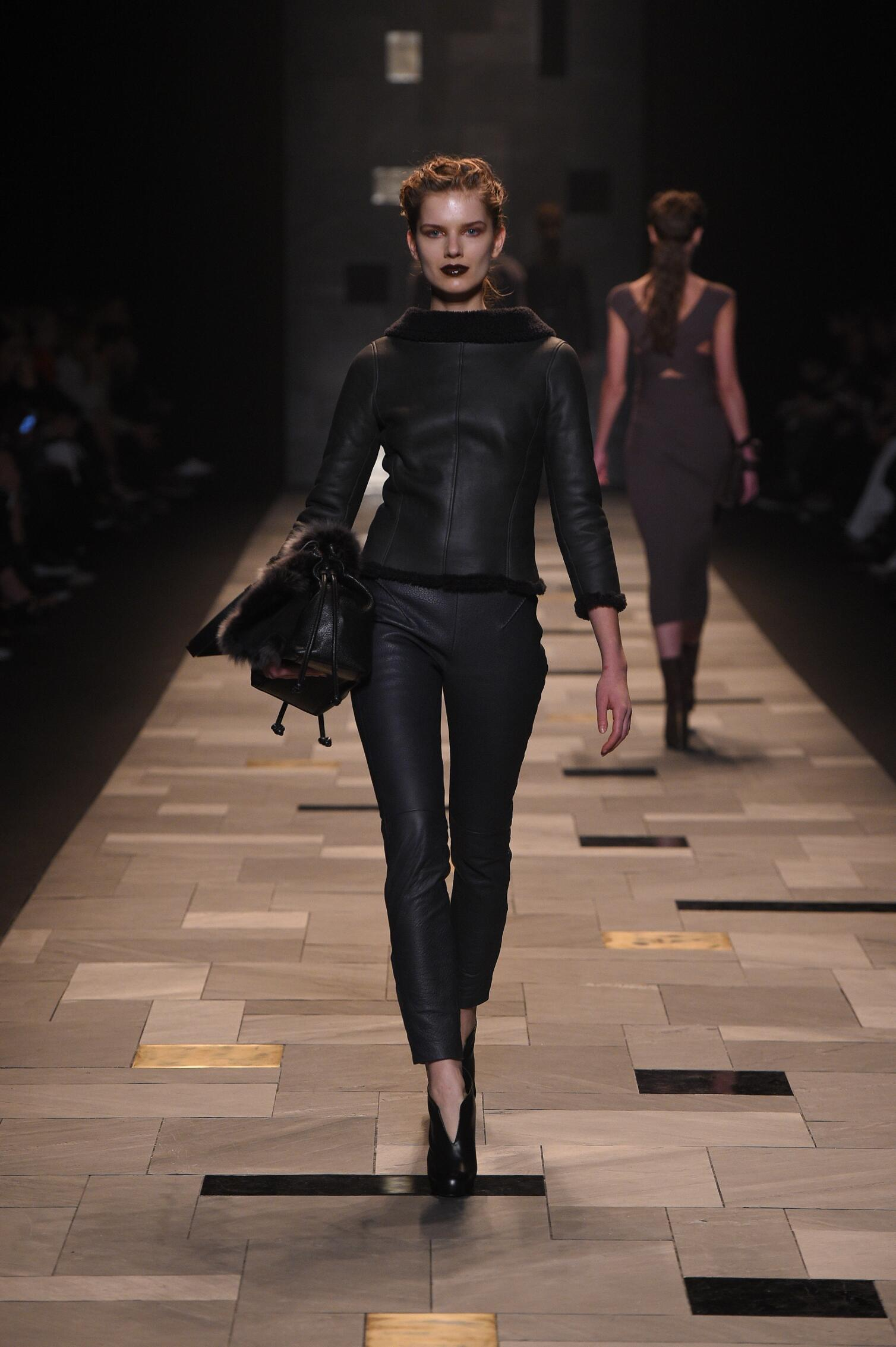 Trussardi Fall Winter 2015 16 Womenswear Collection Milan Fashion Week Fashion Show