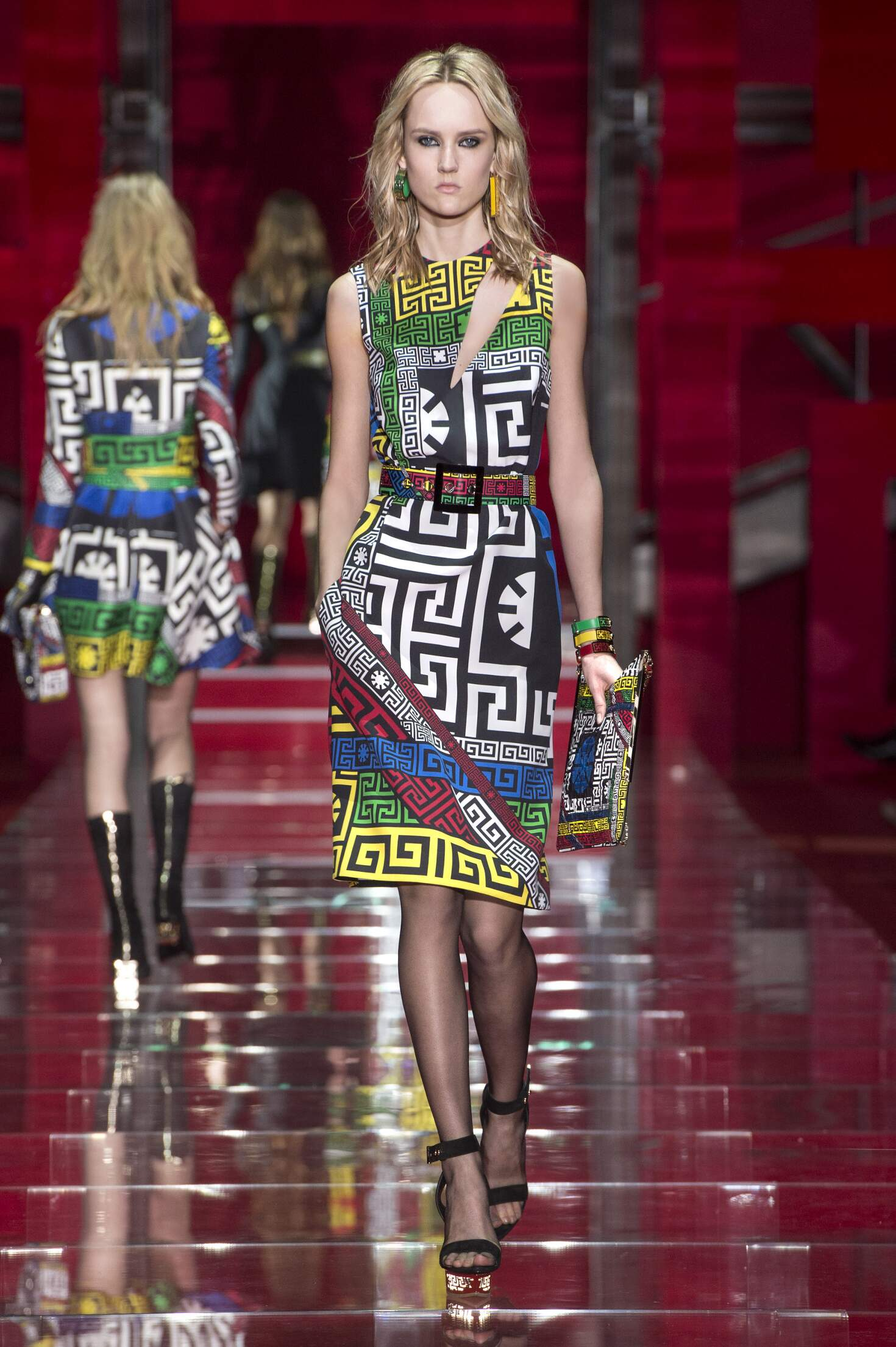 Versace Collection Woman Milan Fashion Week
