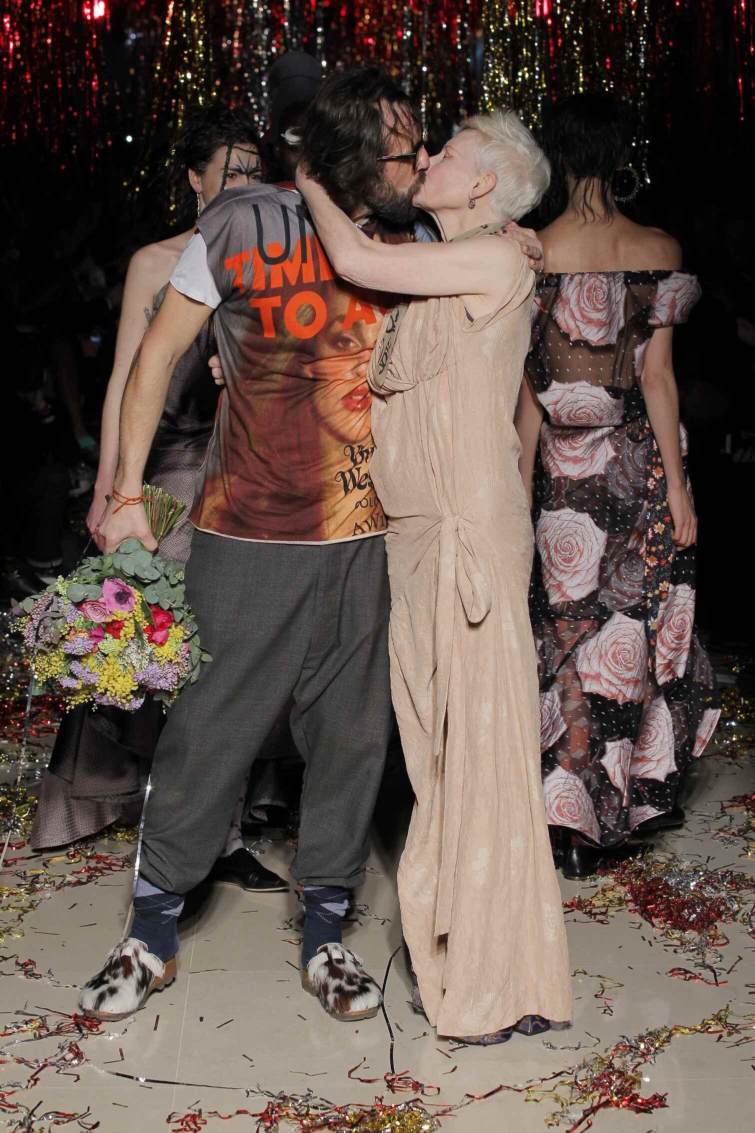 Vivienne Westwood Fashion Show Finale