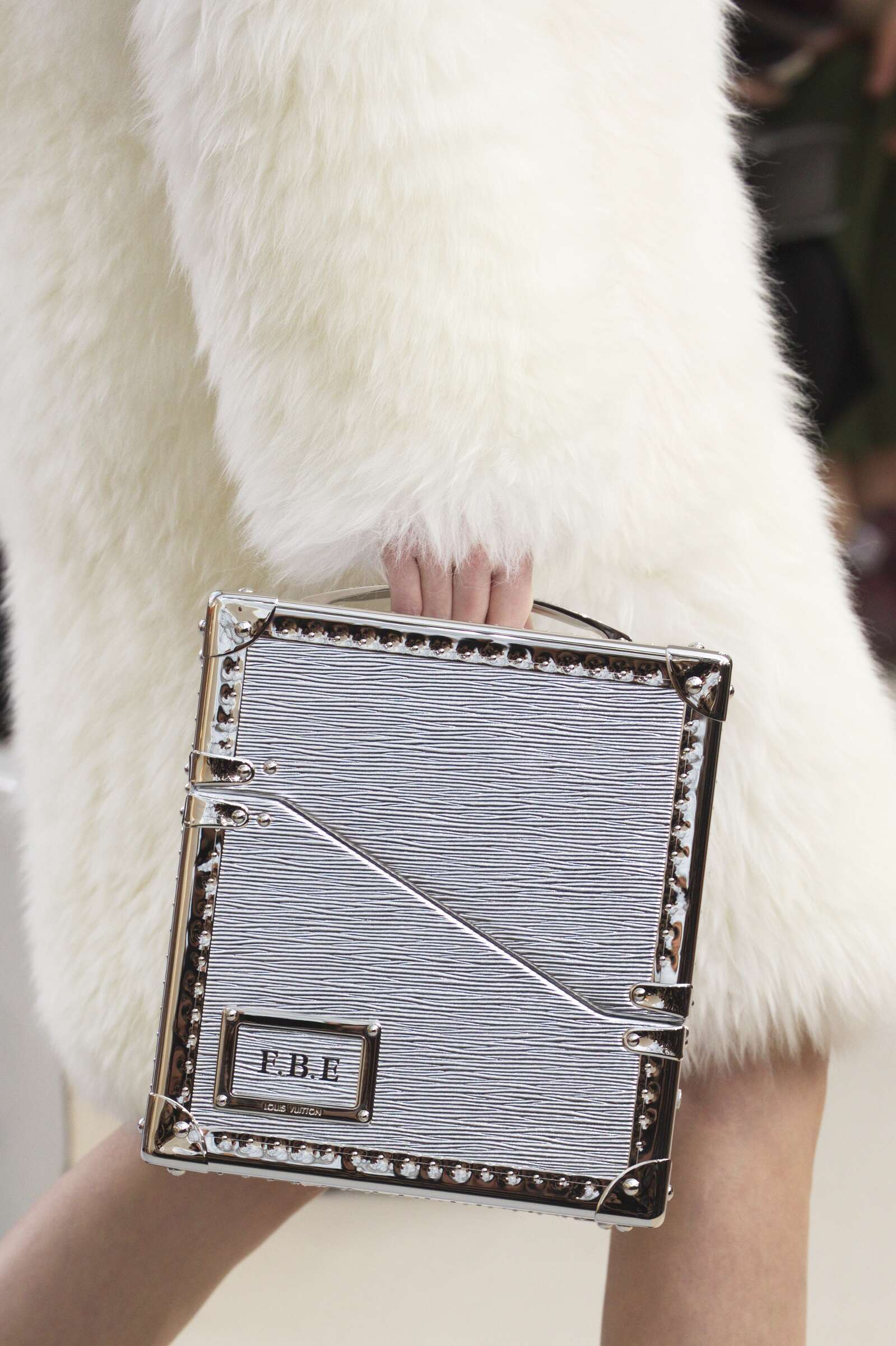 Winter 2015 Fashion Show Louis Vuitton Bag Details Collection