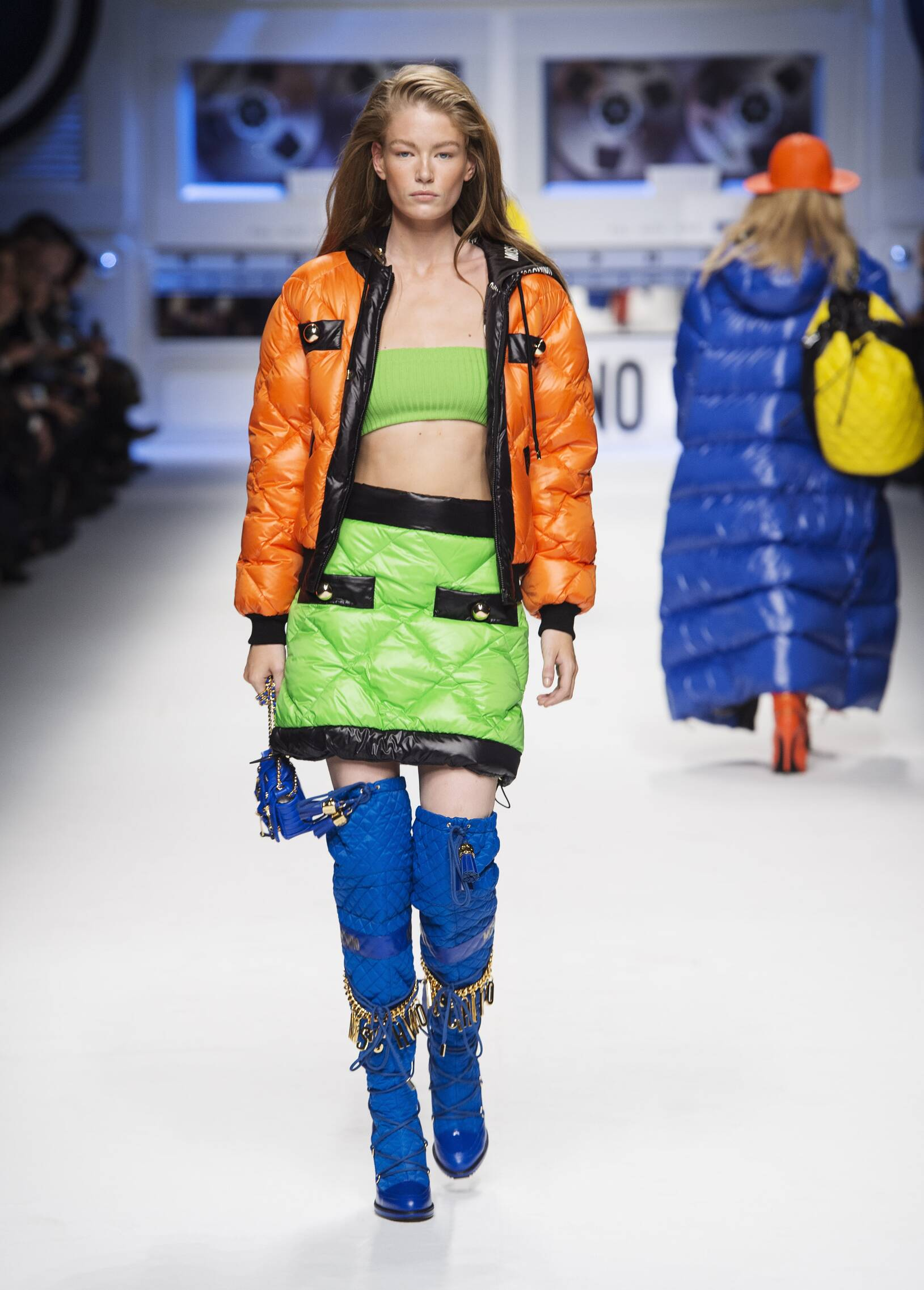 Winter 2015 Fashion Show Moschino Collection