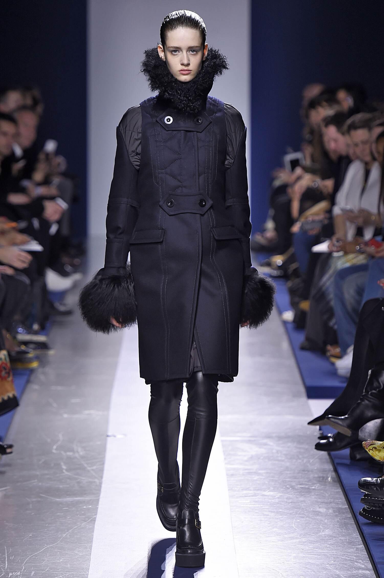 Winter 2015 Fashion Show Sacai Collection