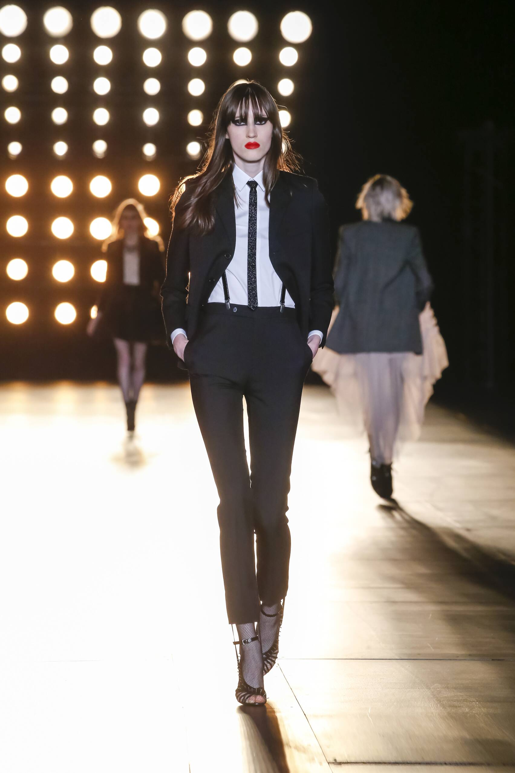 Winter 2015 Fashion Show Saint Laurent Collection